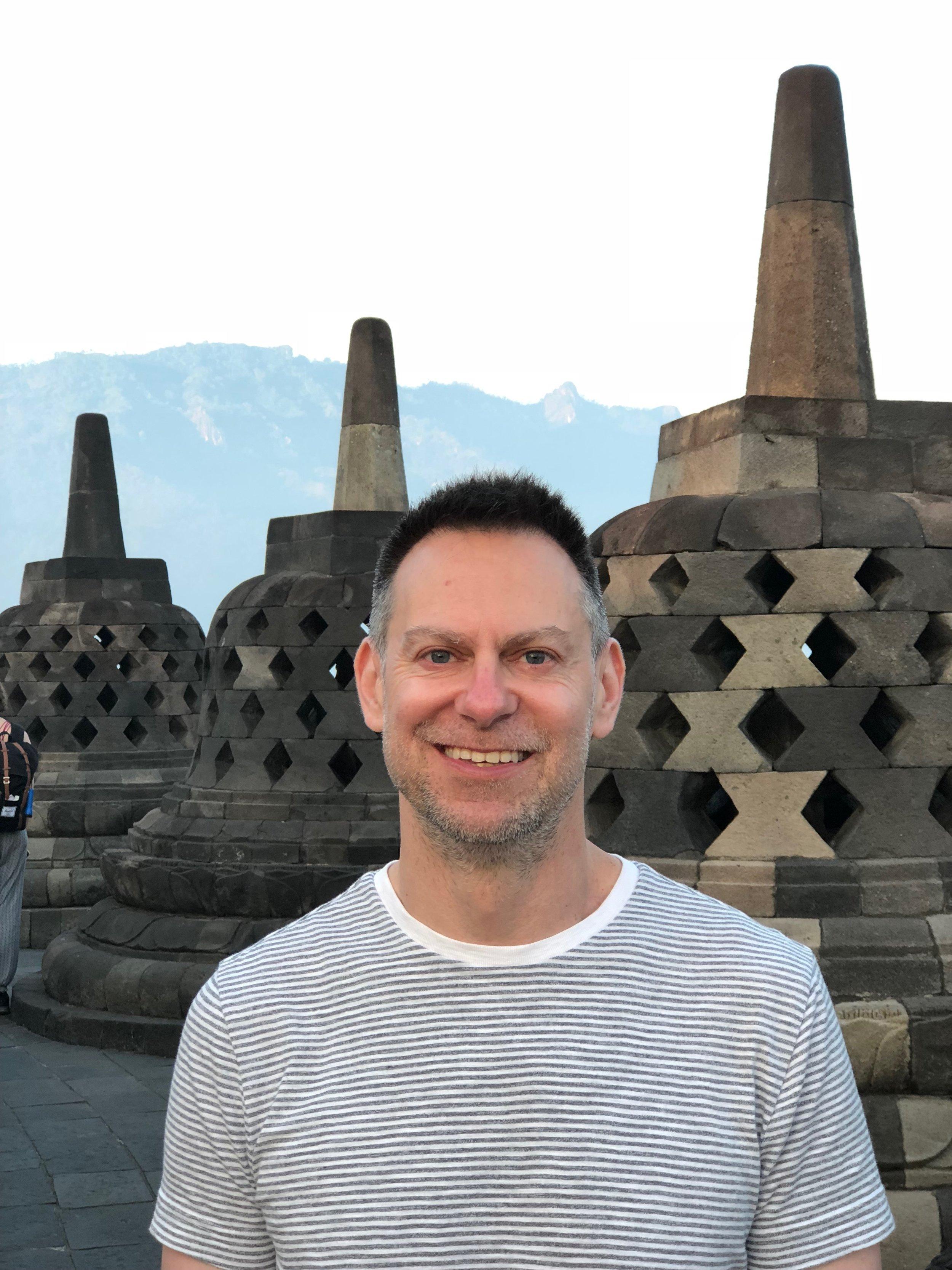 Borobudur makes Duke happy