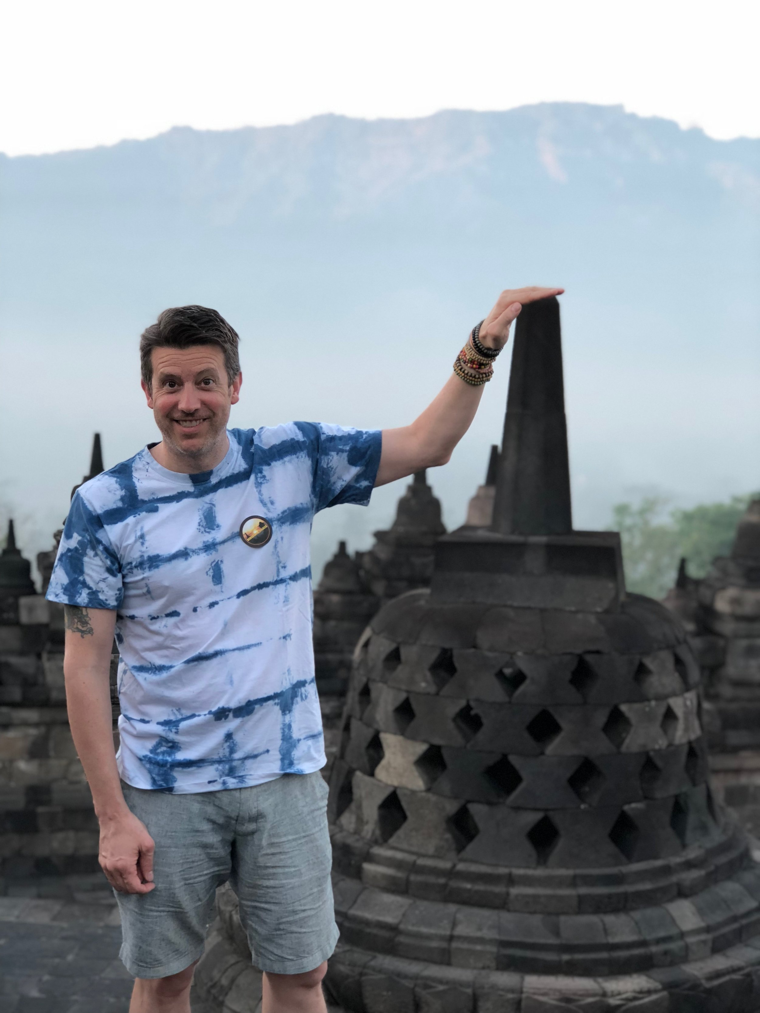 Was Wally the once-sleeping giant who created Borobudur in a single night?