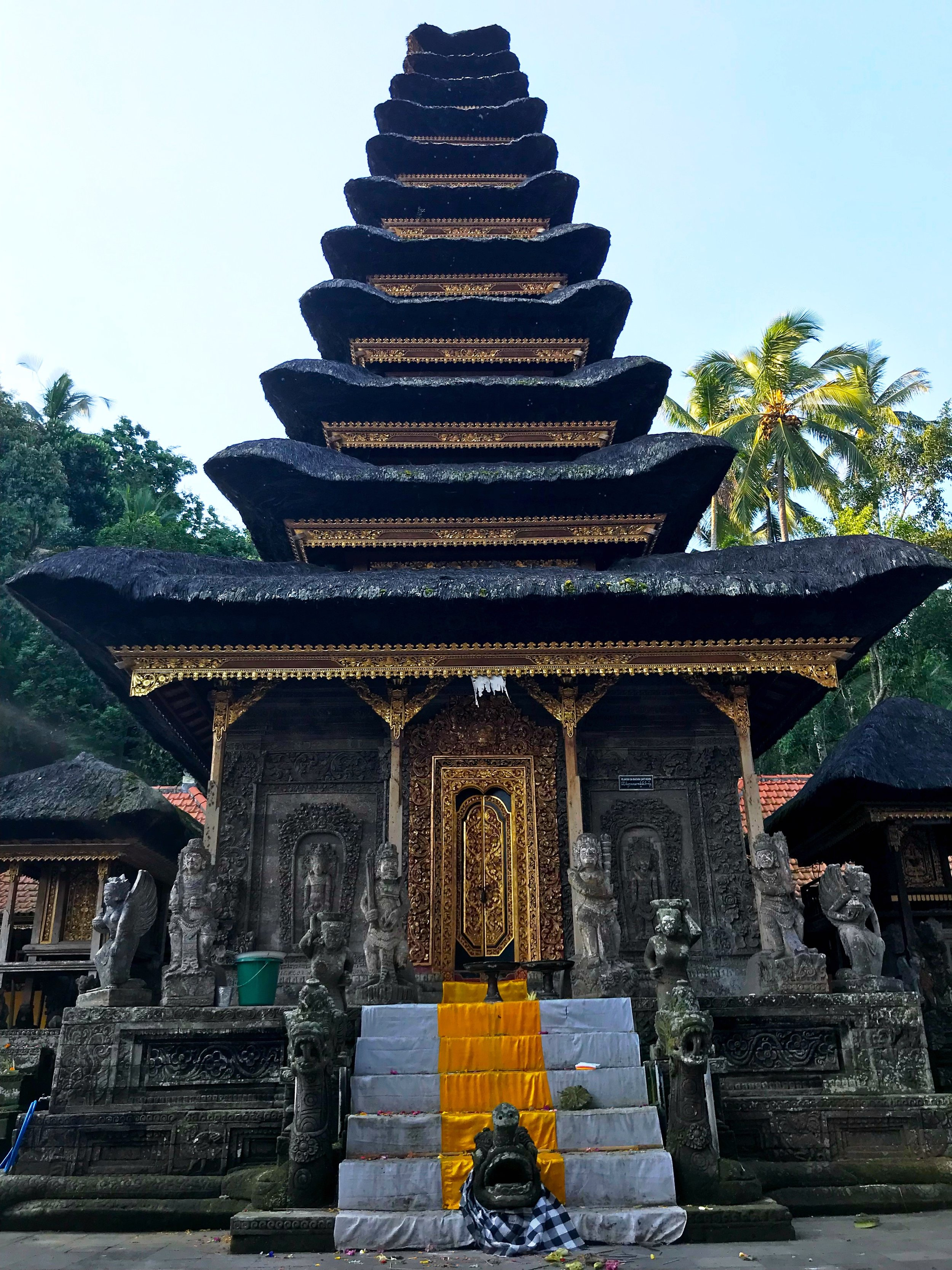 The taller the Meru, the more significant the deity