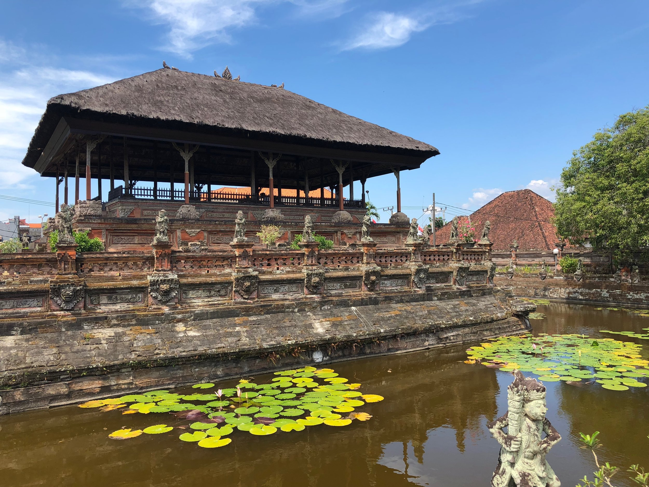Klungkung consists of two main structures, but golly, they're fun to visit