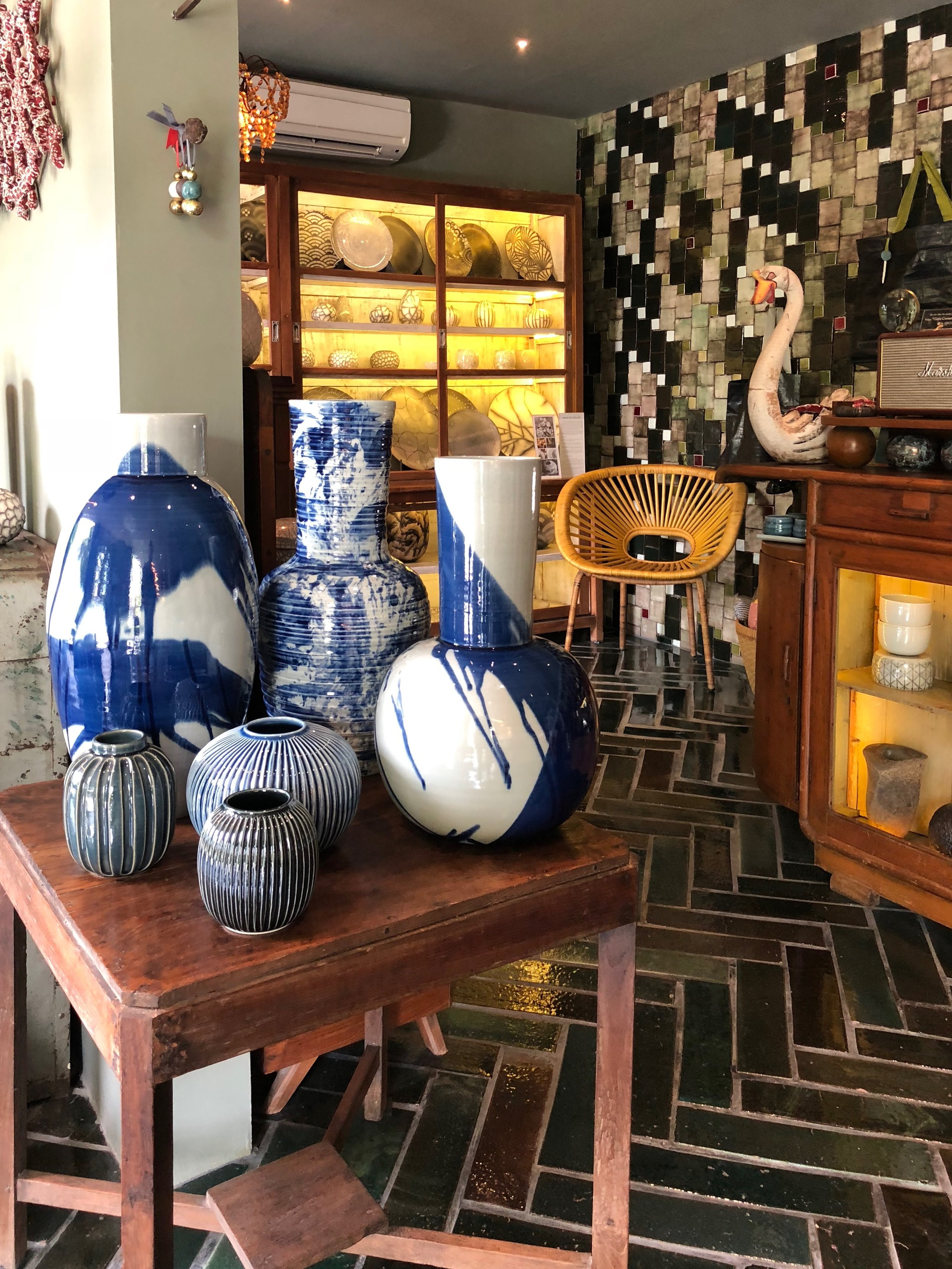 The Gaya Ceramic shop is like walking through an art exhibit