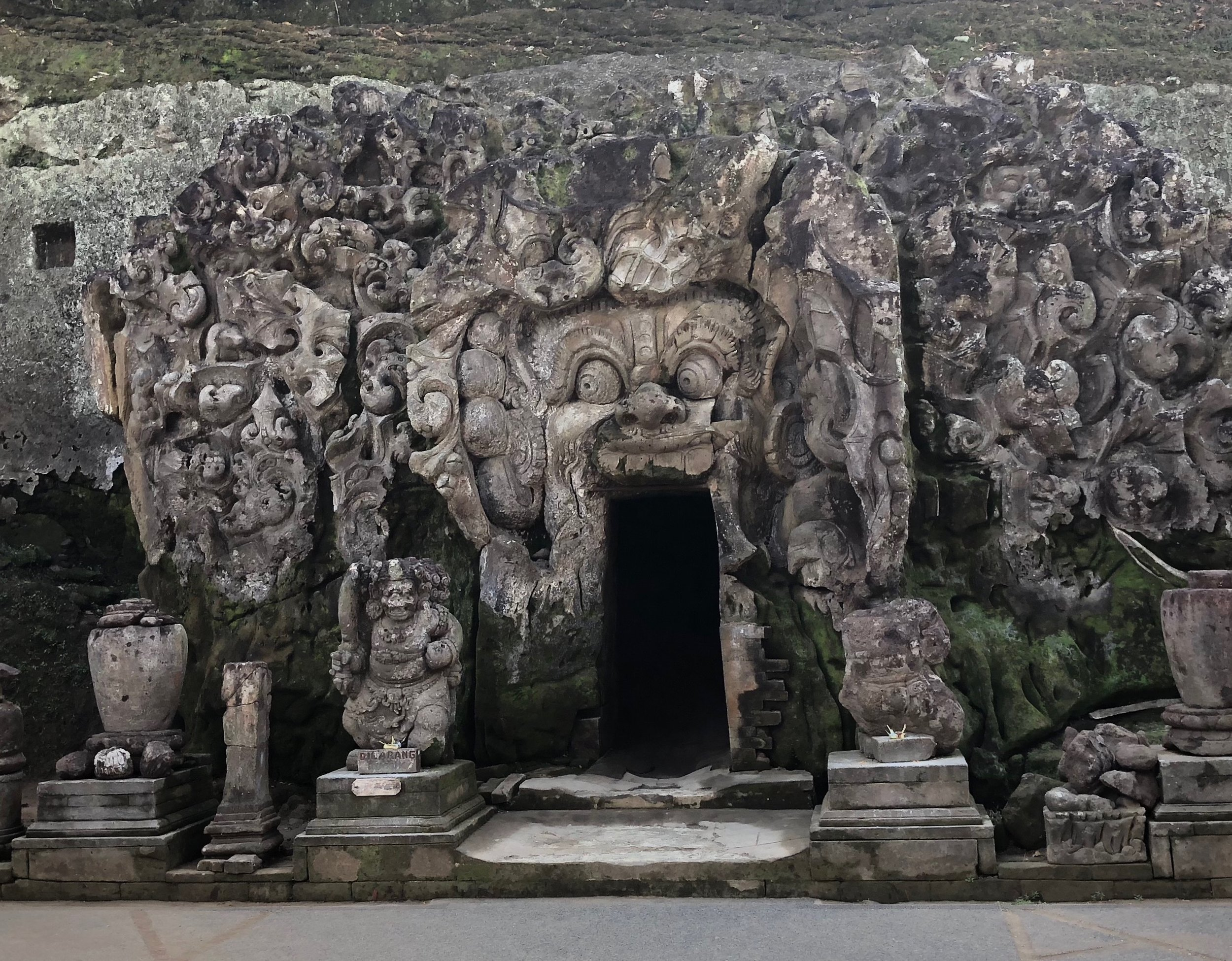 When staying in Ubud, make a quick stop to see the monster mouth at Goa Gajah