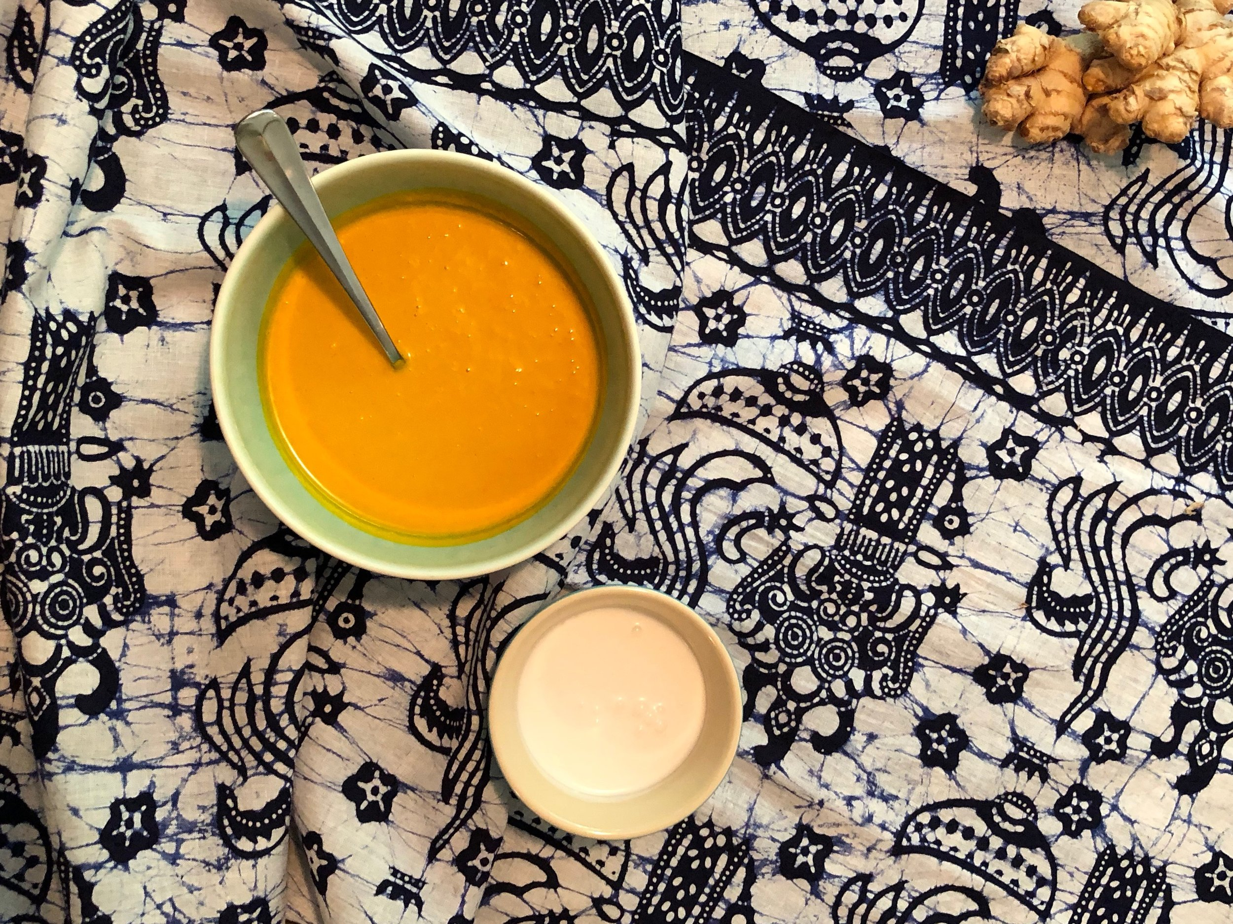 Can't stand the heat? Whip up a batch of this refreshing cold soup we first had in Bali