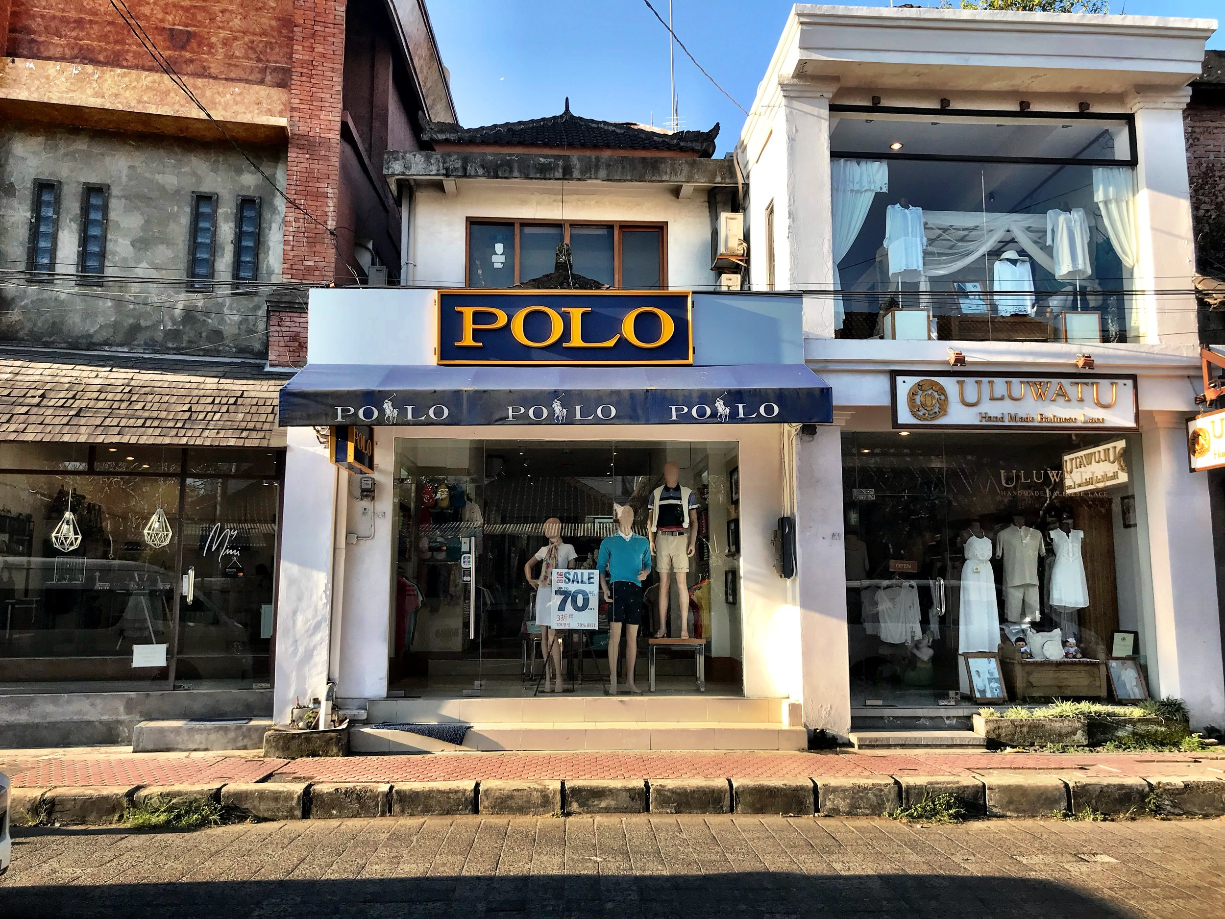 Are these officially licensed Ralph Lauren stores? Probably not