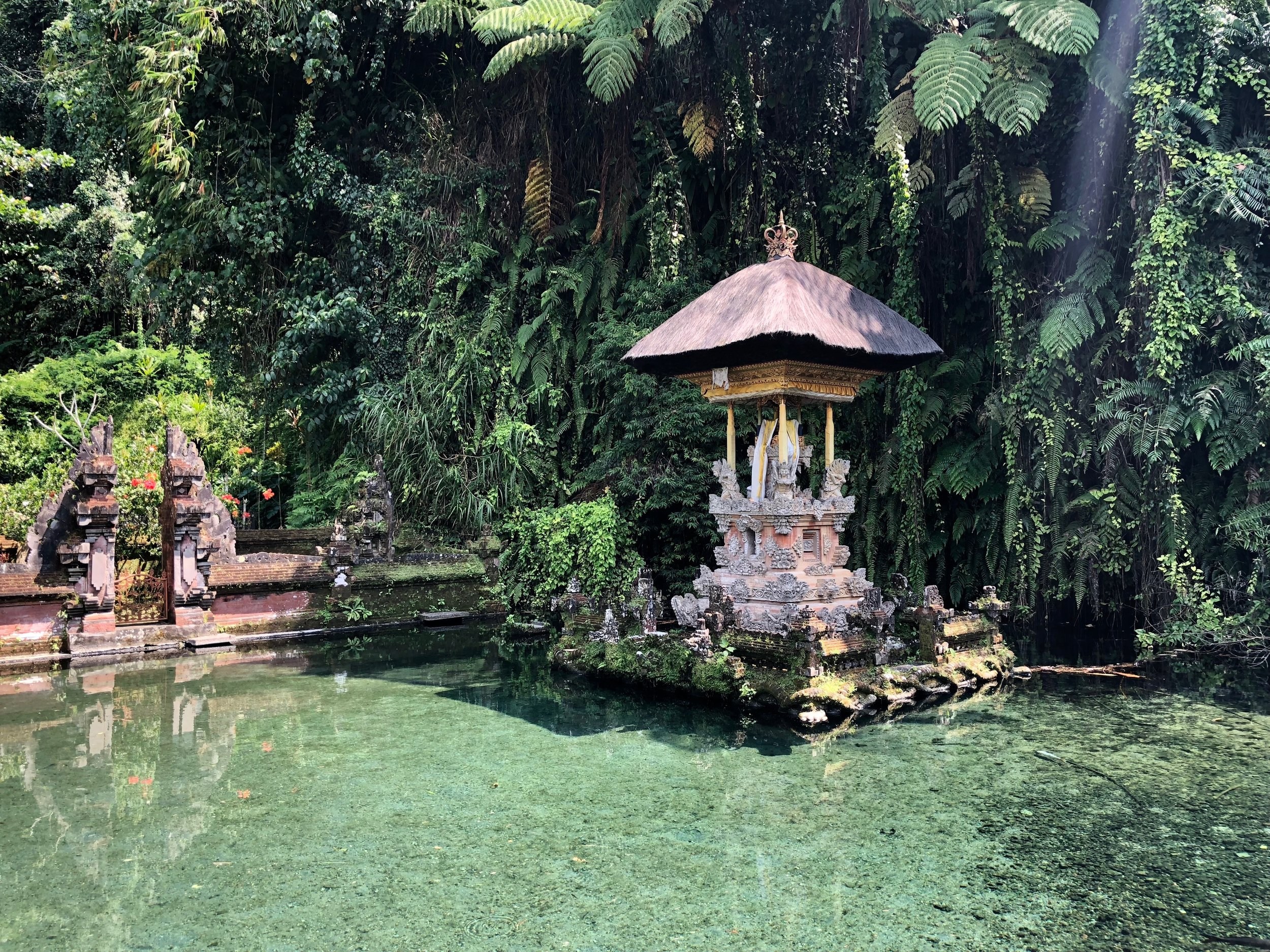 Pair a trip to this water temple with the cliff shrines of the same name and the Tegallalang Rice Terrace