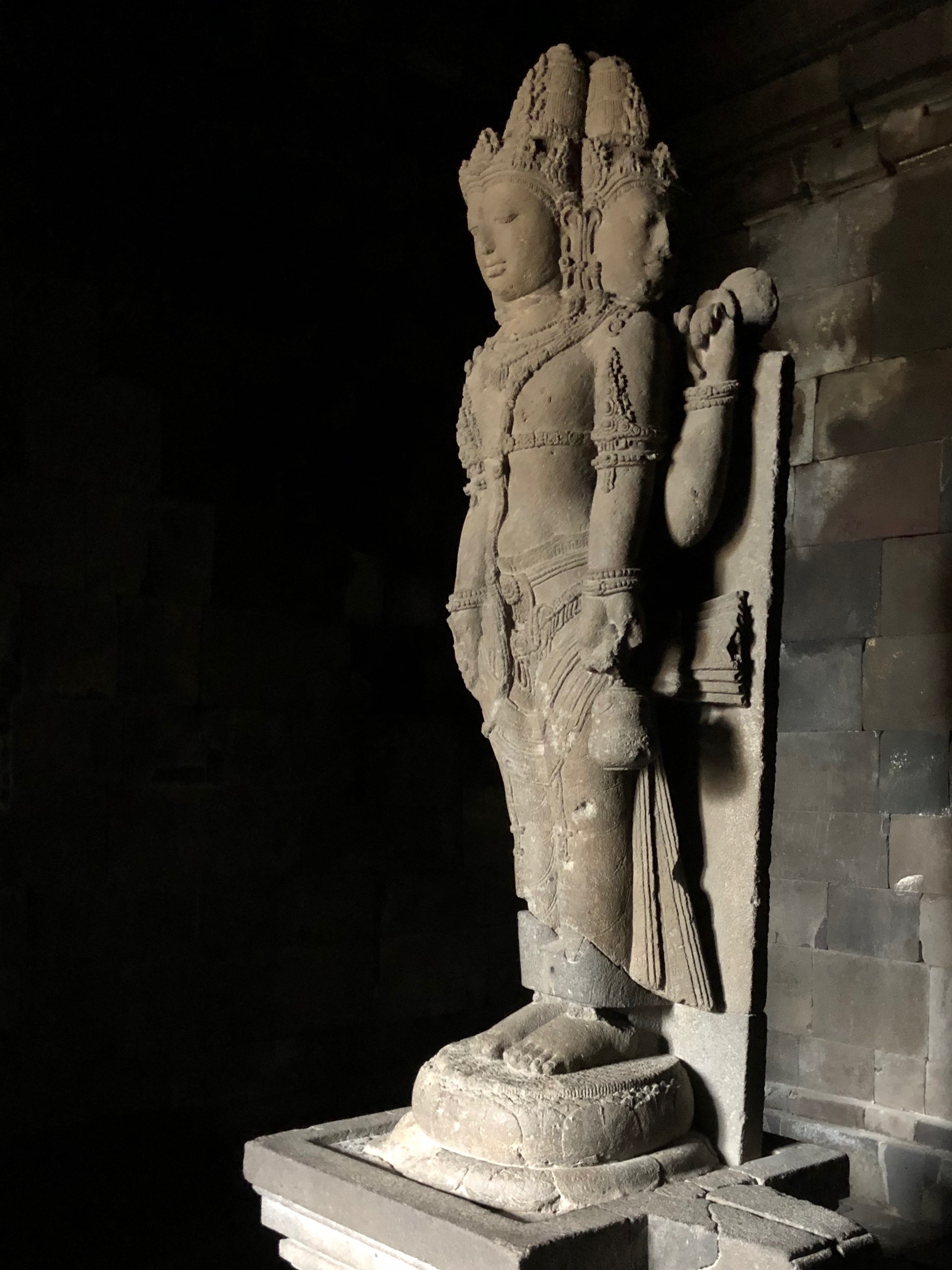 The statue of Brahma the Creator
