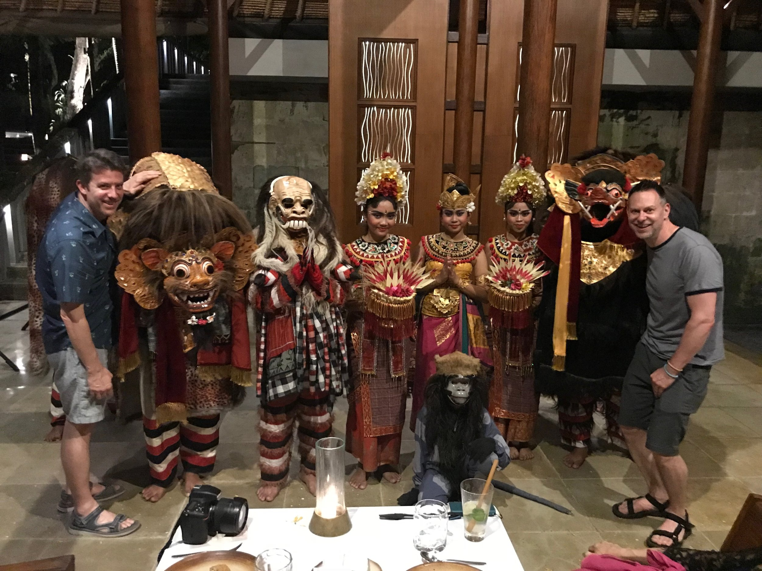 Wally and Duke make some new friends, including Barong and Rangda, which they watched battle in a dance
