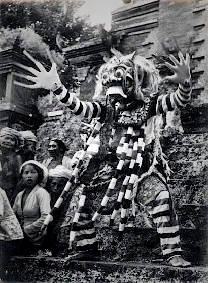 The wild woman known as Randga, the Widow, is the personification of evil for the Balinese