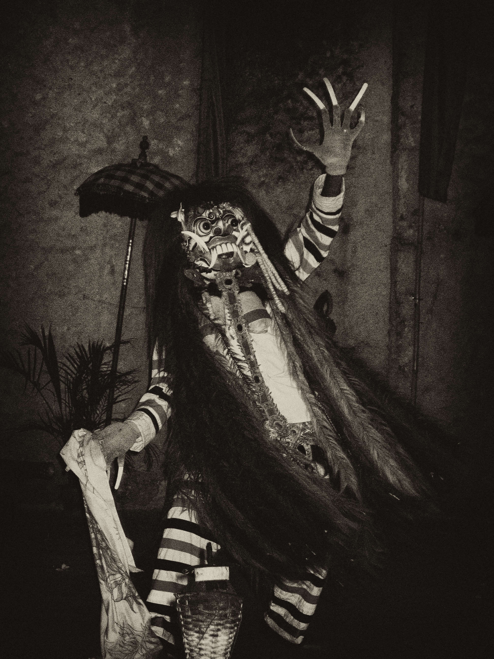 As Queen of Bali, Randga was exiled for practicing witchcraft. She later became the goddess of evil and ruler of demons