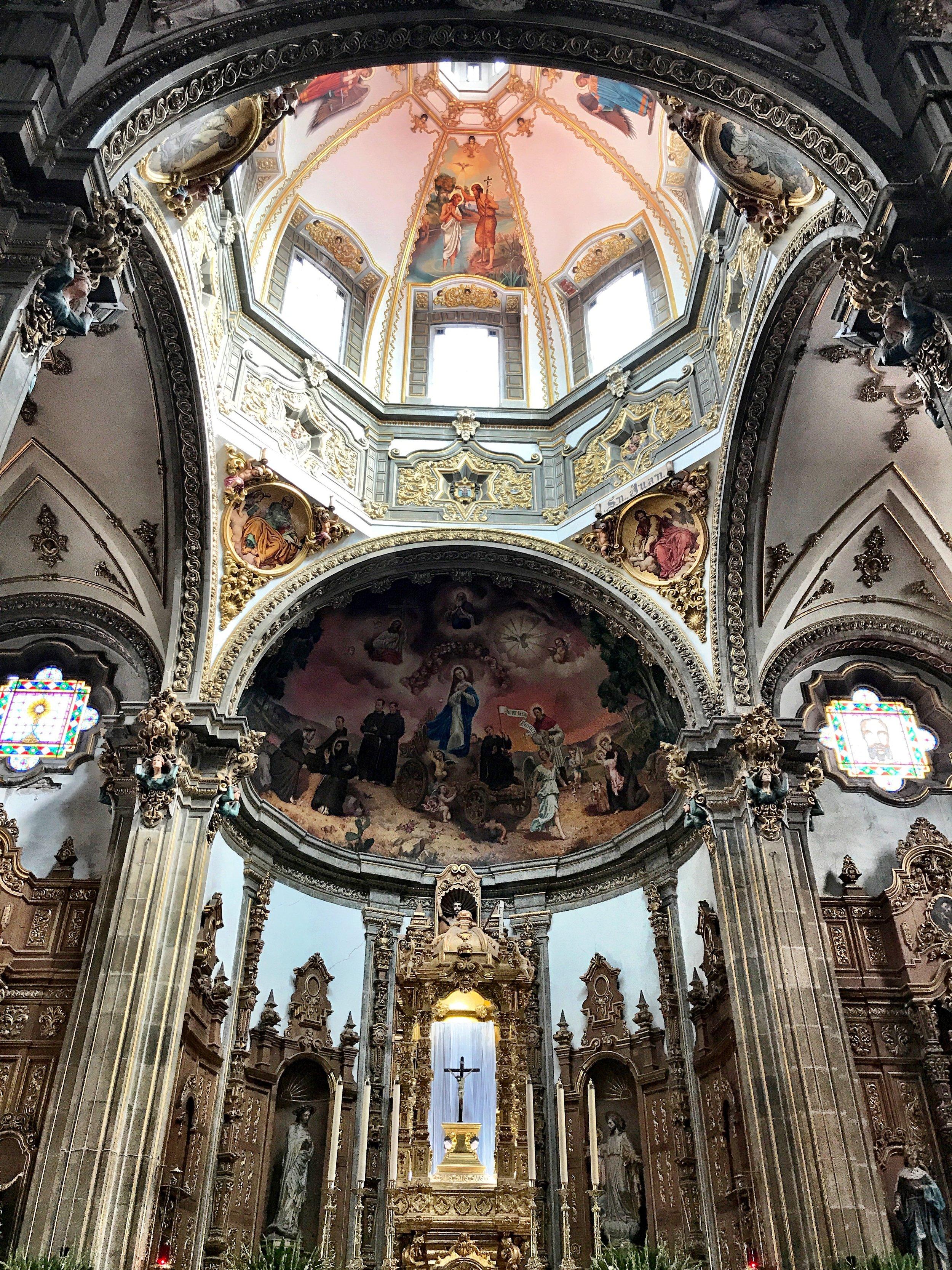 La Iglesia de Coyoacán