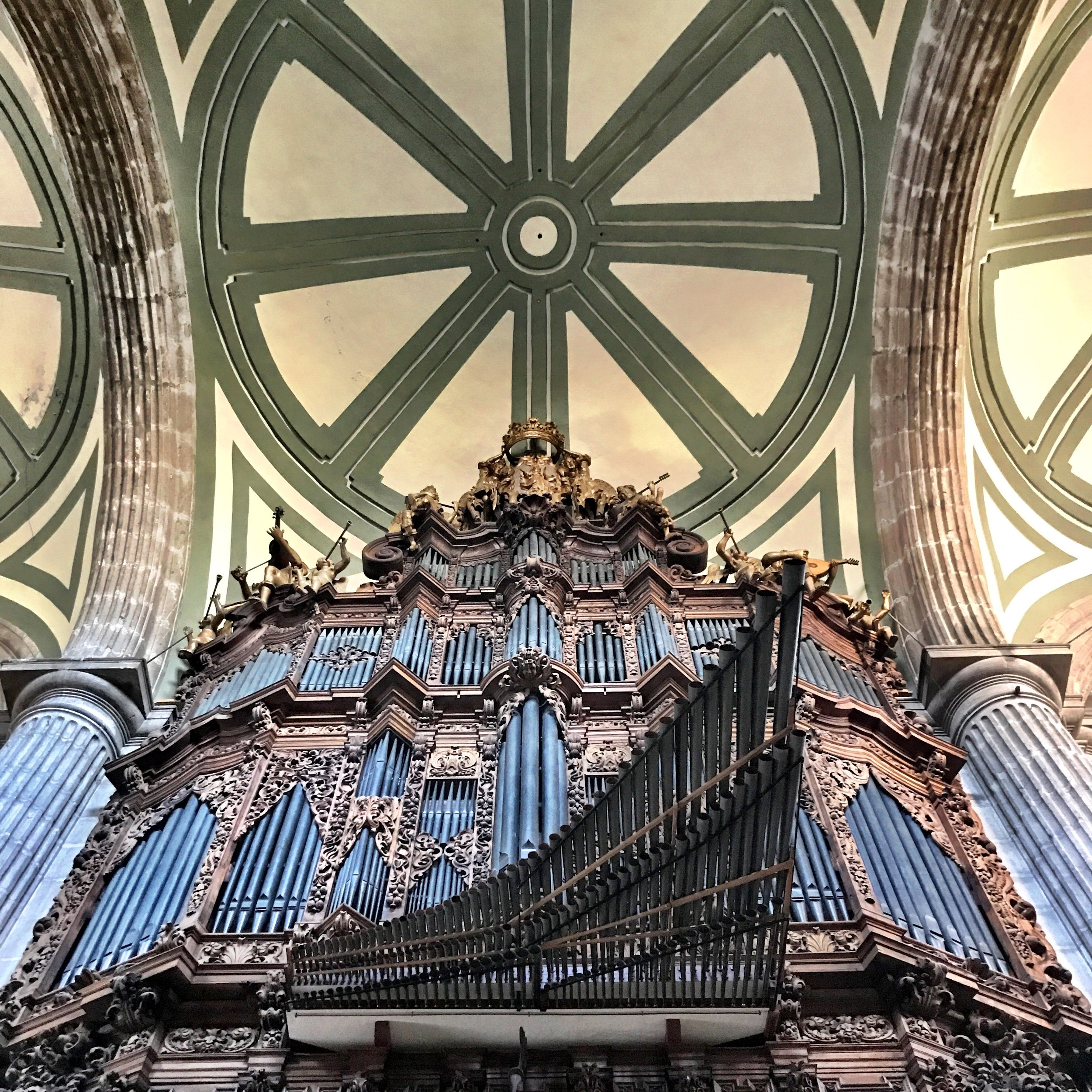 The Metropolitan Cathedral organ