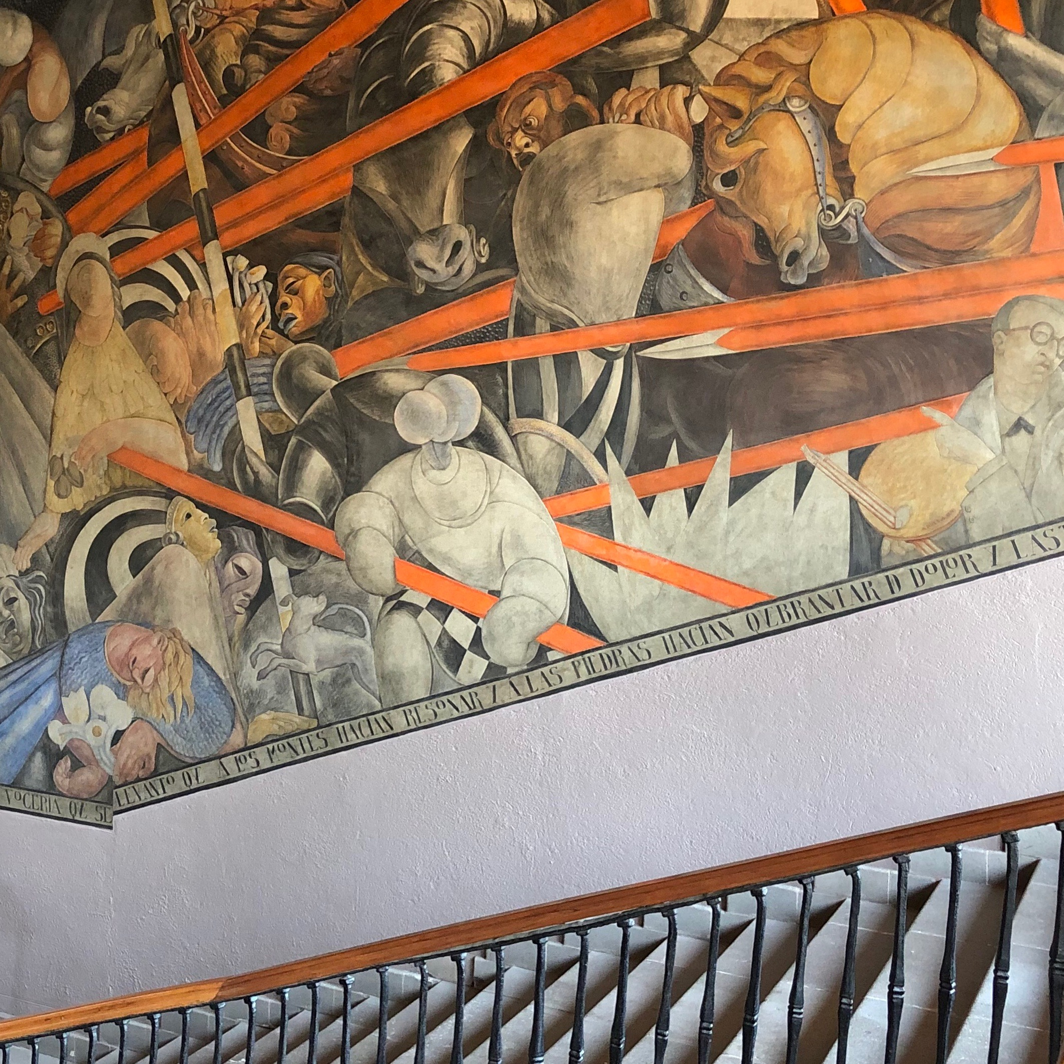 You'll spot murals all over the Antiguo Colegio de San Ildefonso