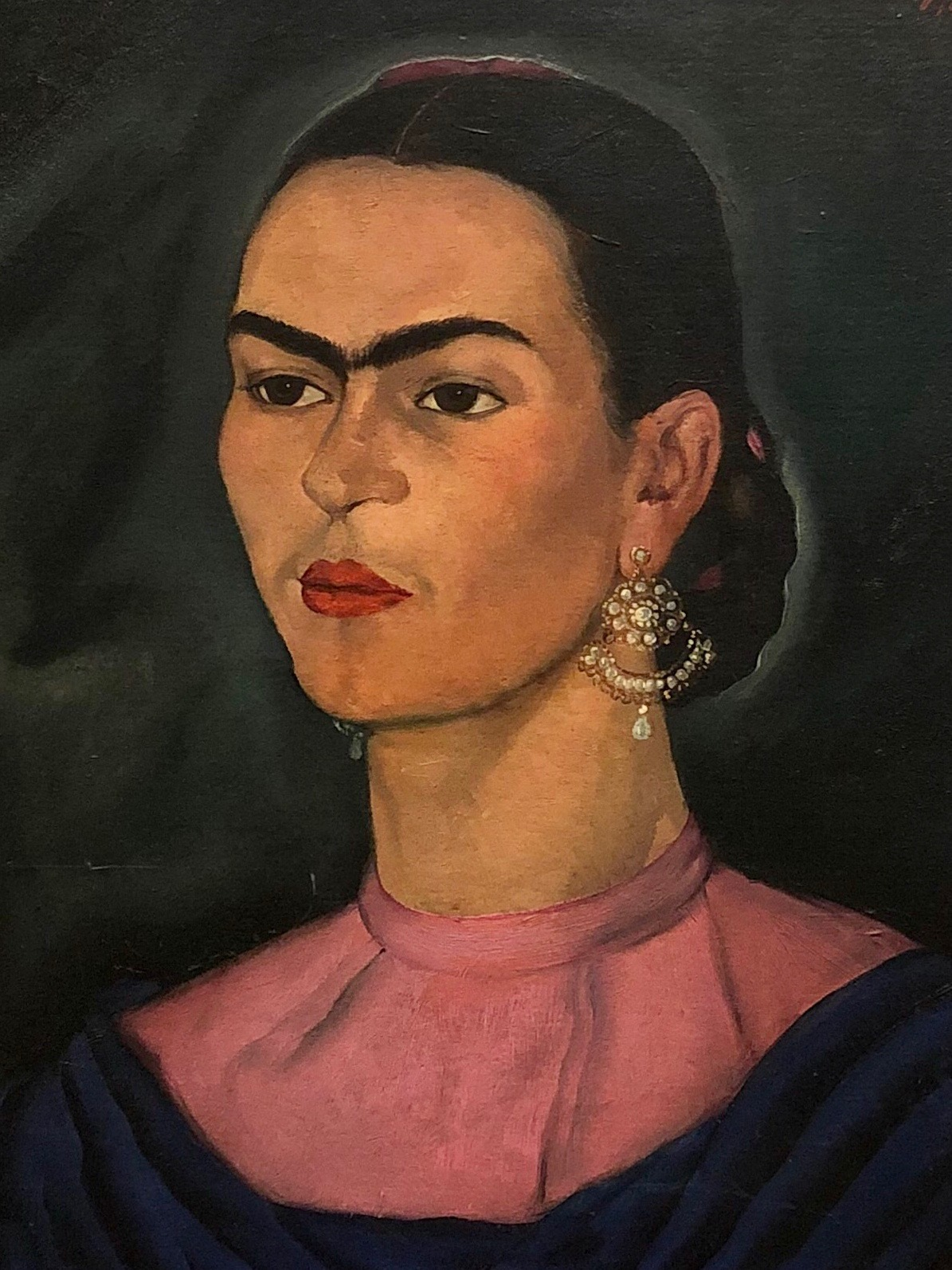 Portrait of Frida Kahlo  by Roberto Montenegro, 1936