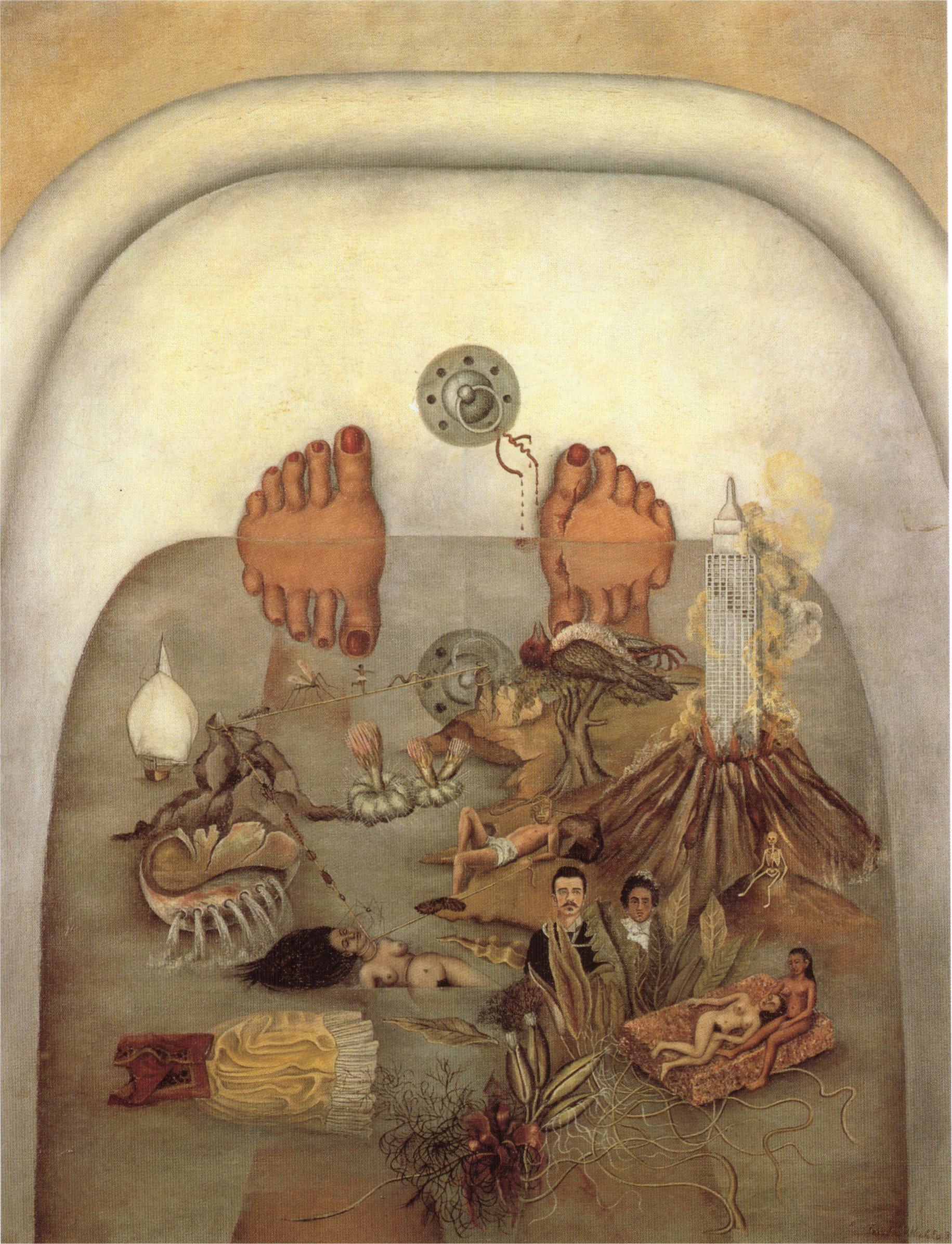 What the Water Gave Me  by Frida Kahlo, 1938