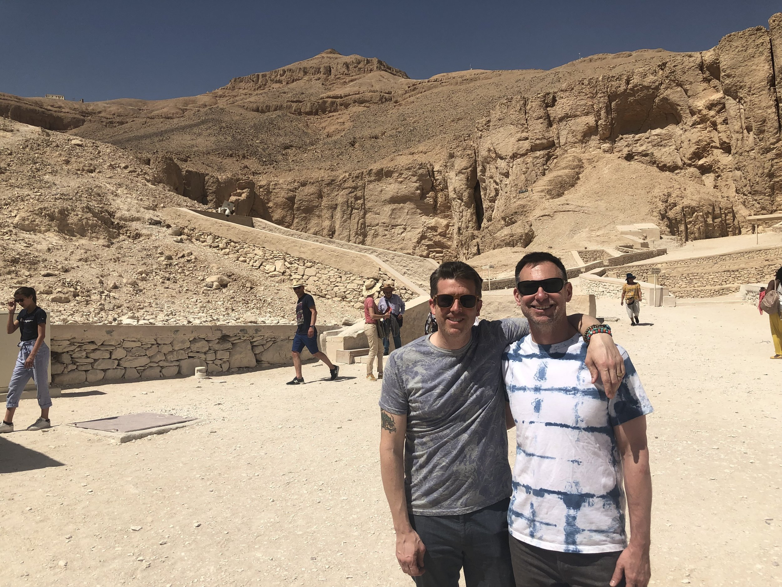 When visiting Luxor, you must plan a morning excursion to the Valley of the Kings