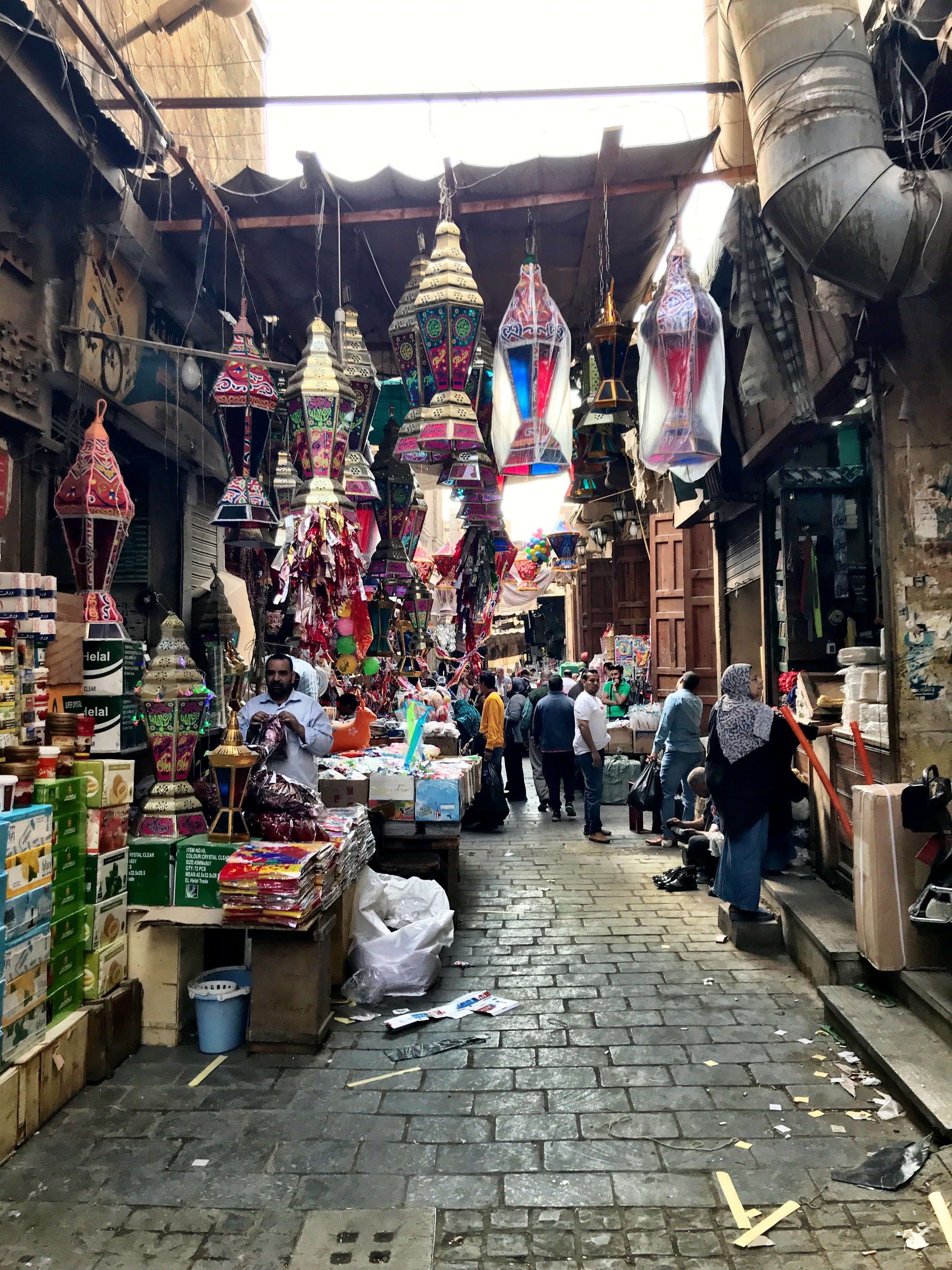 The bazaars are a bit of a maze and can get quite claustrophobic