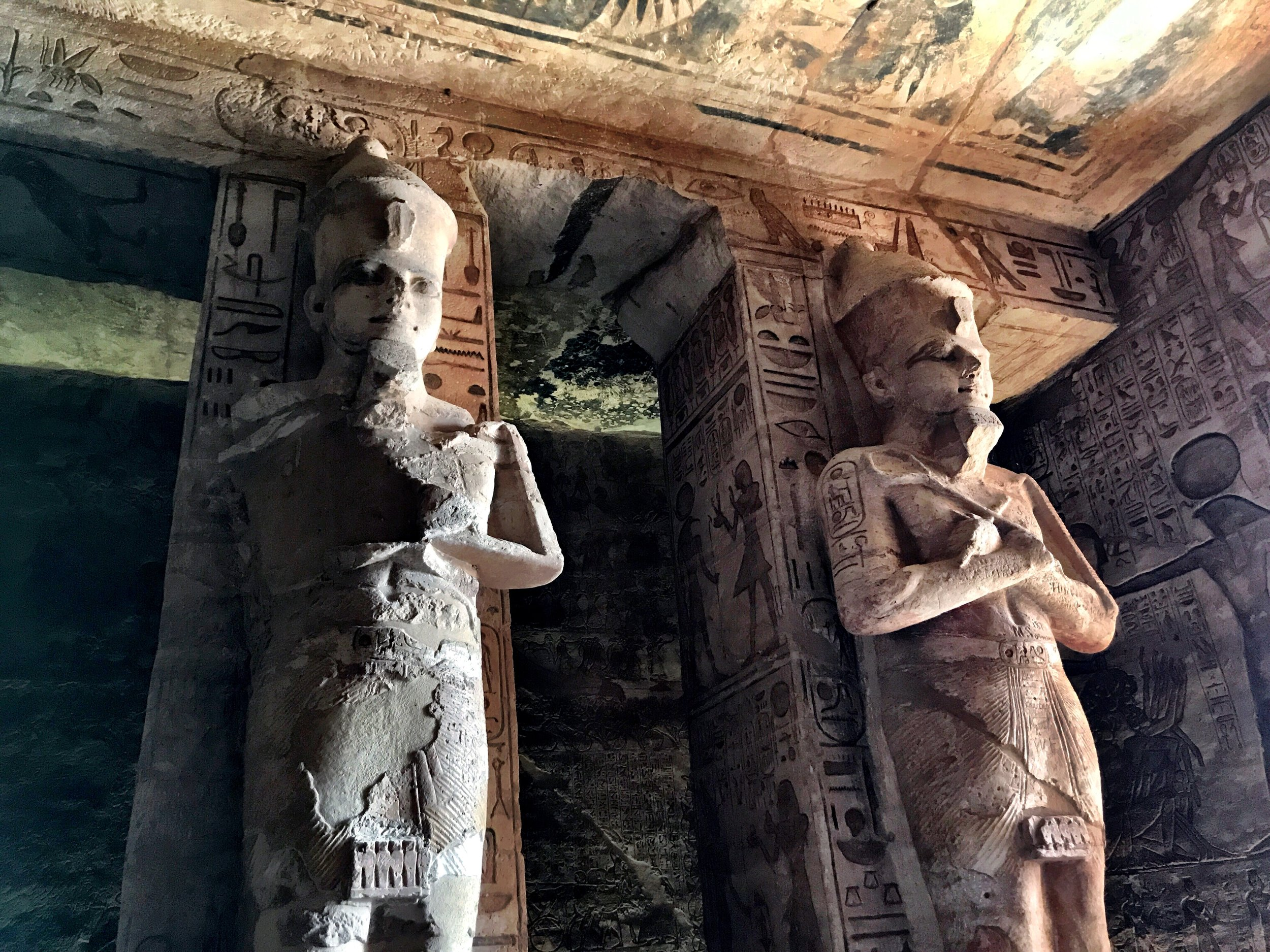 Ramesses II was quite the egotist — his image is all over the temple