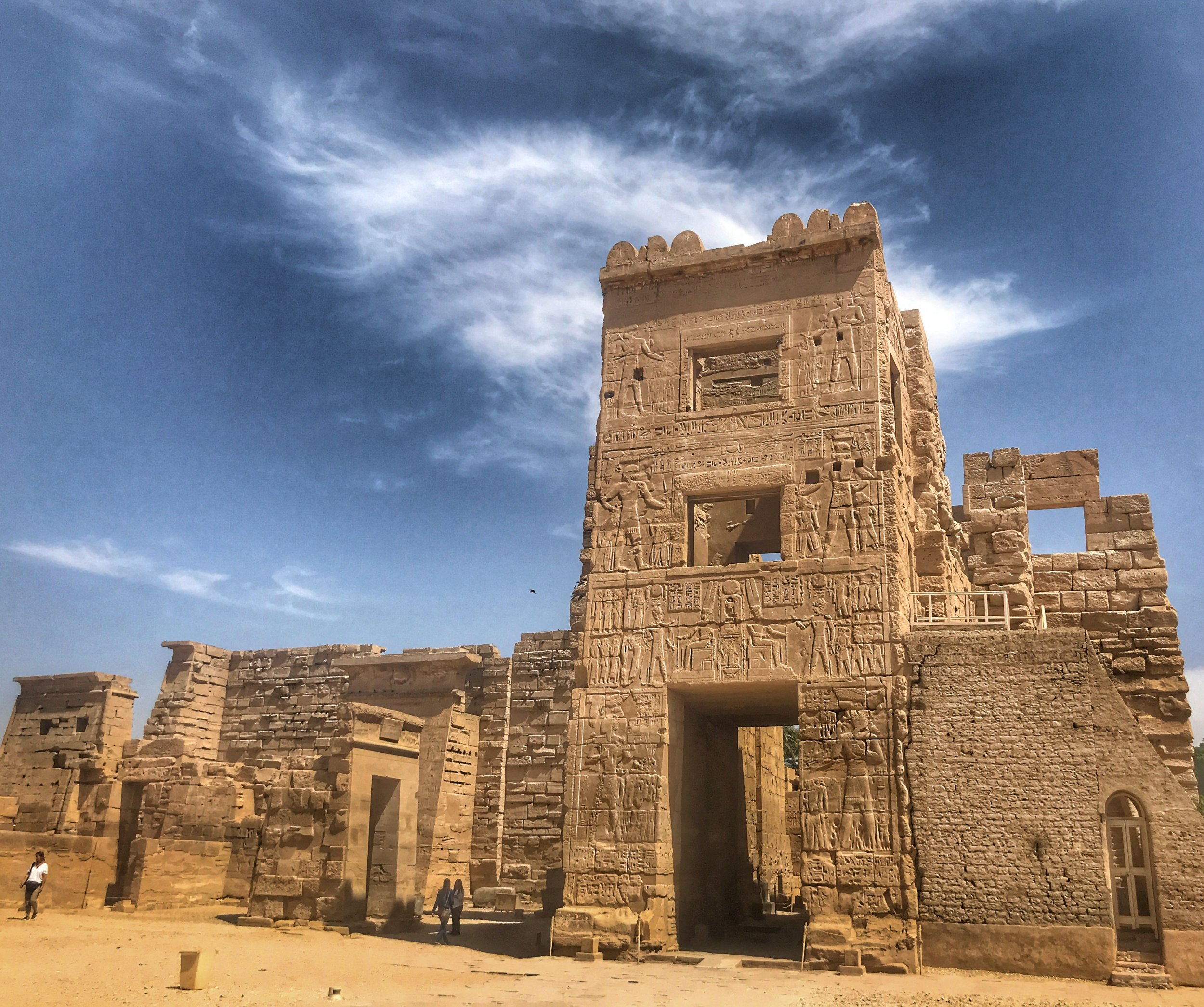 When in Luxor, be sure to visit Medinet Habu, an often-overlooked temple