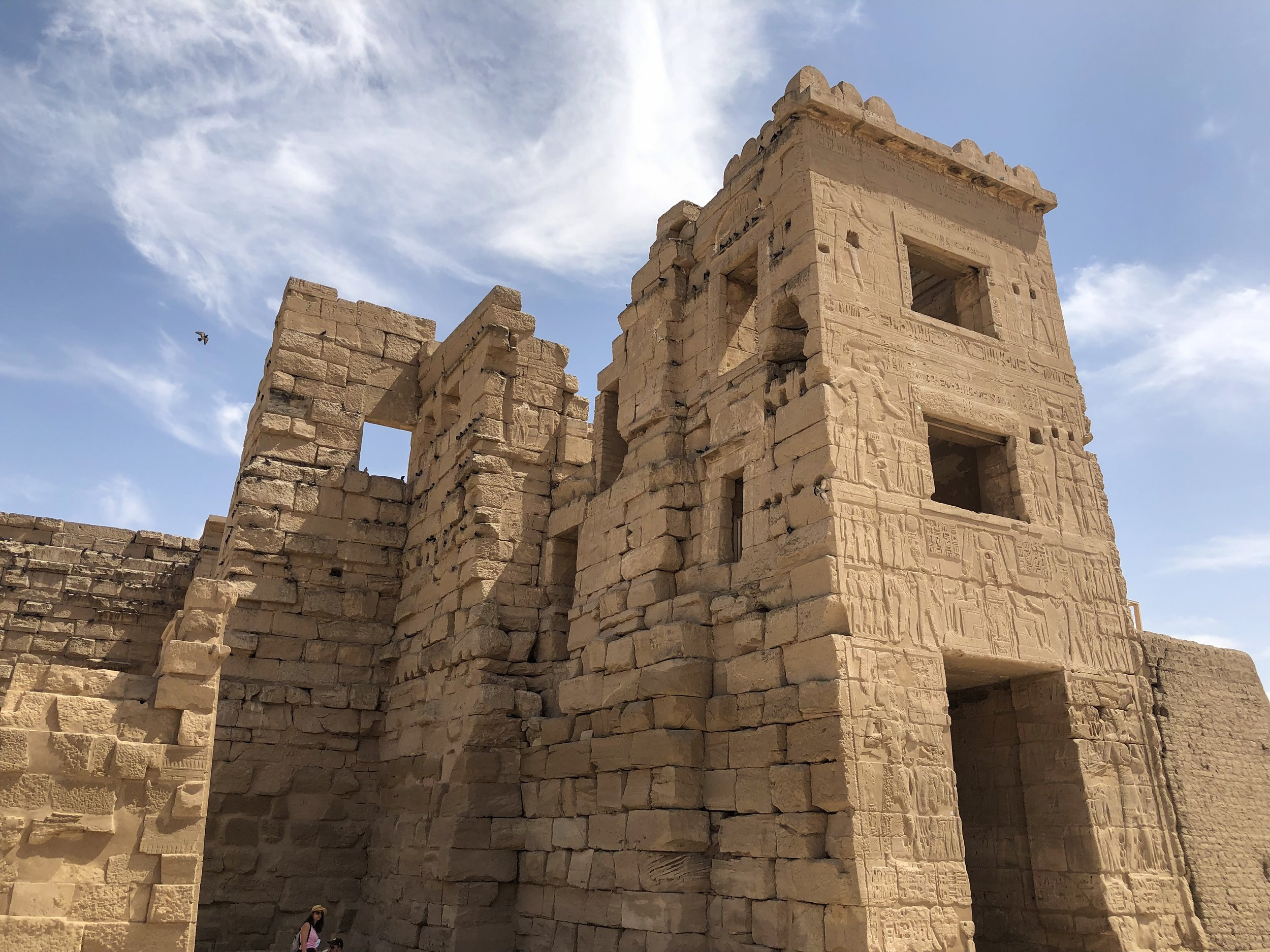 It was in these rooms at the top of the structure where Ramesses III hung out with his many wives — and where he met his demise