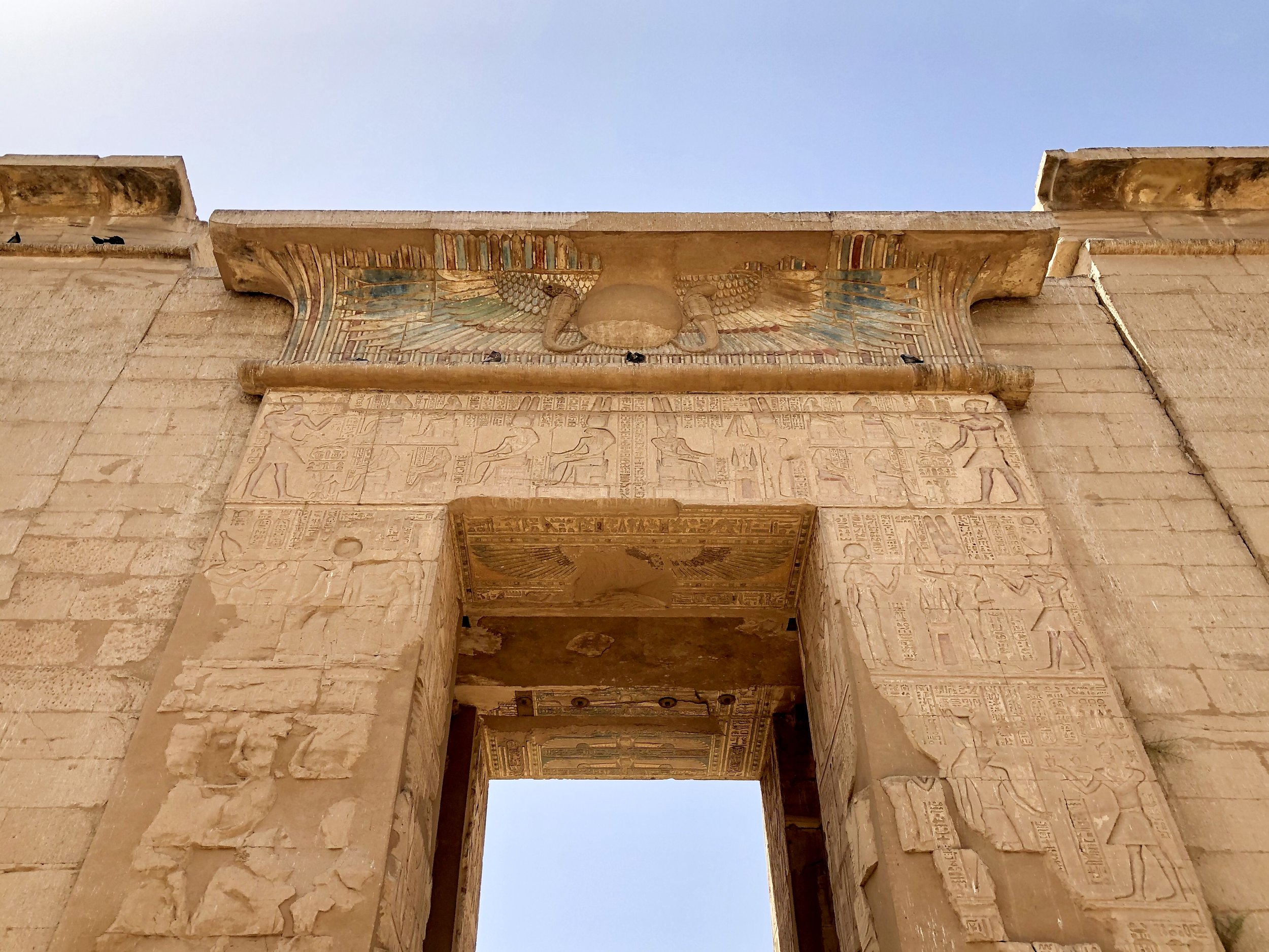 Medinet Habu is a beautiful structure — and the site of a pharaoh's assassination