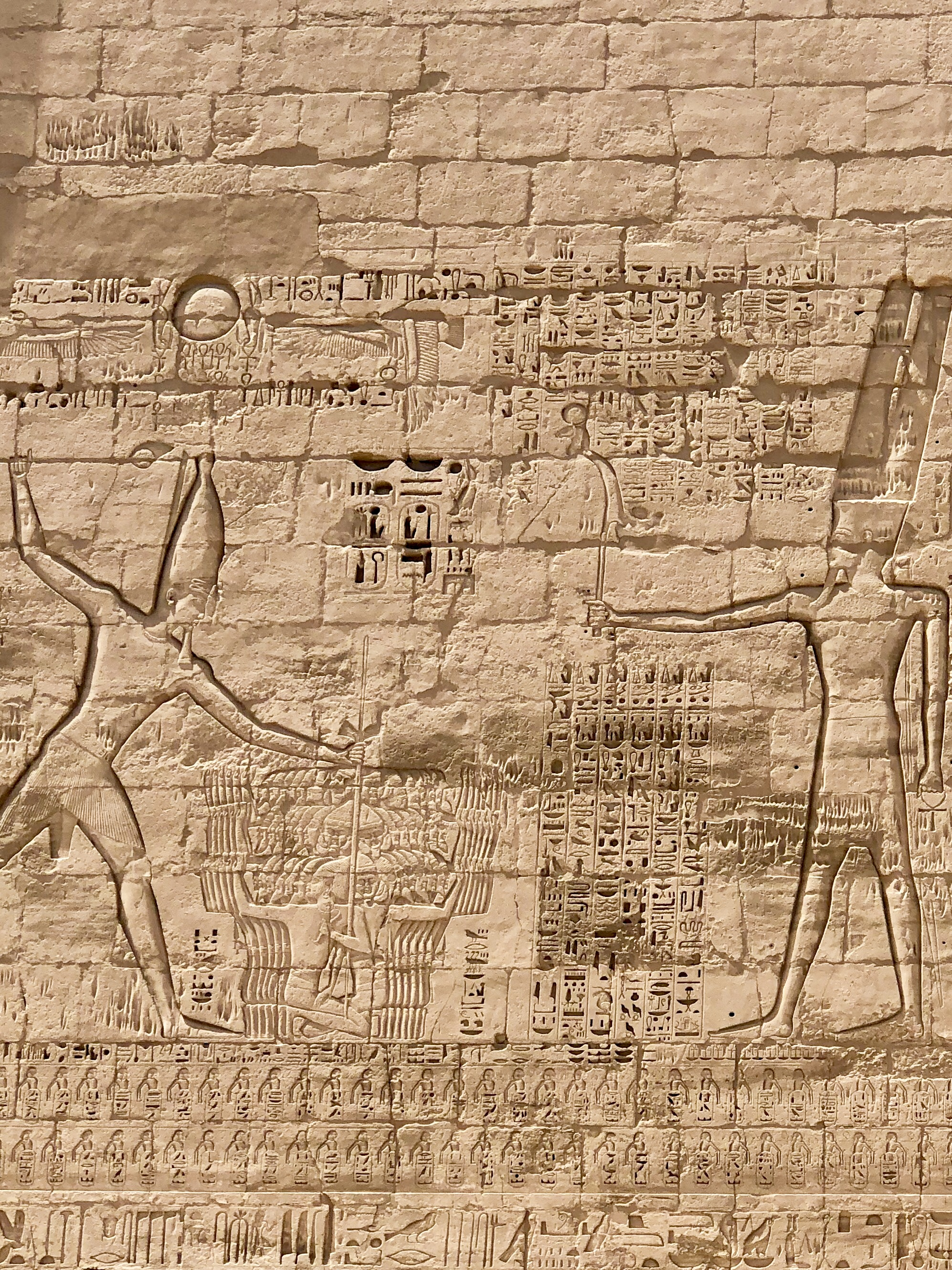 If you defeat warriors who were undefeated, you brag about it, like Ramesses III did