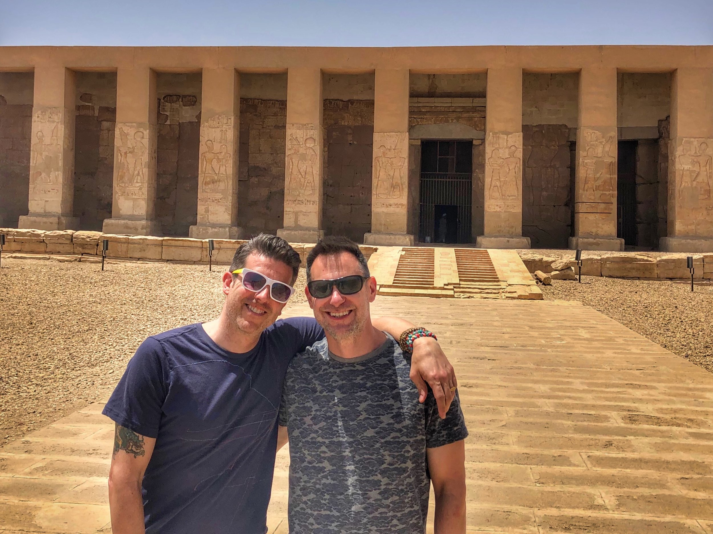 Wally and Duke highly recommend adding Abydos to your itinerary