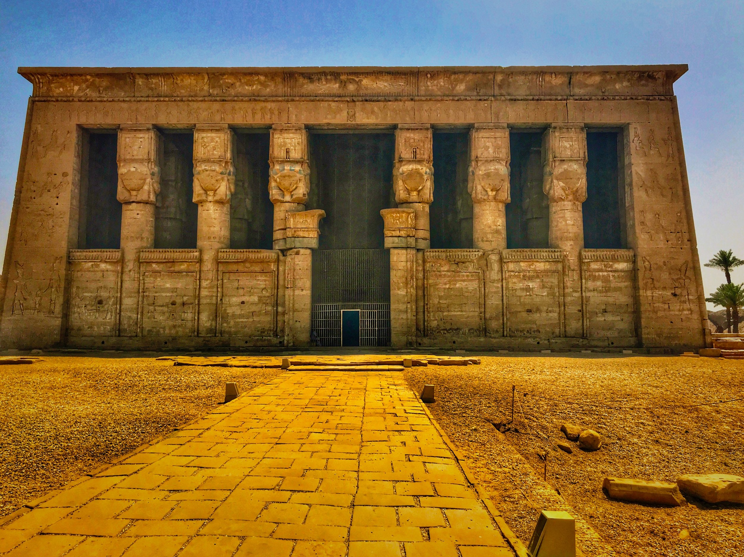 Dendera's Temple of Hathor has stood for 2,000 years