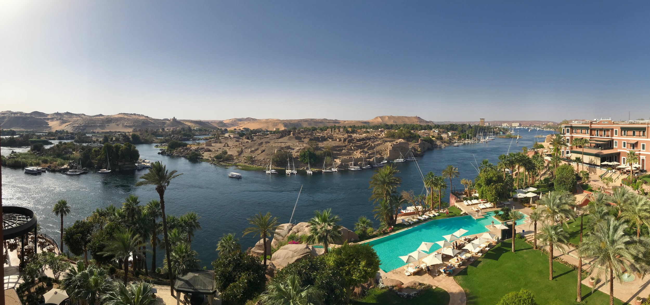 The Undeniable Charm Of The Old Cataract Hotel In Aswan