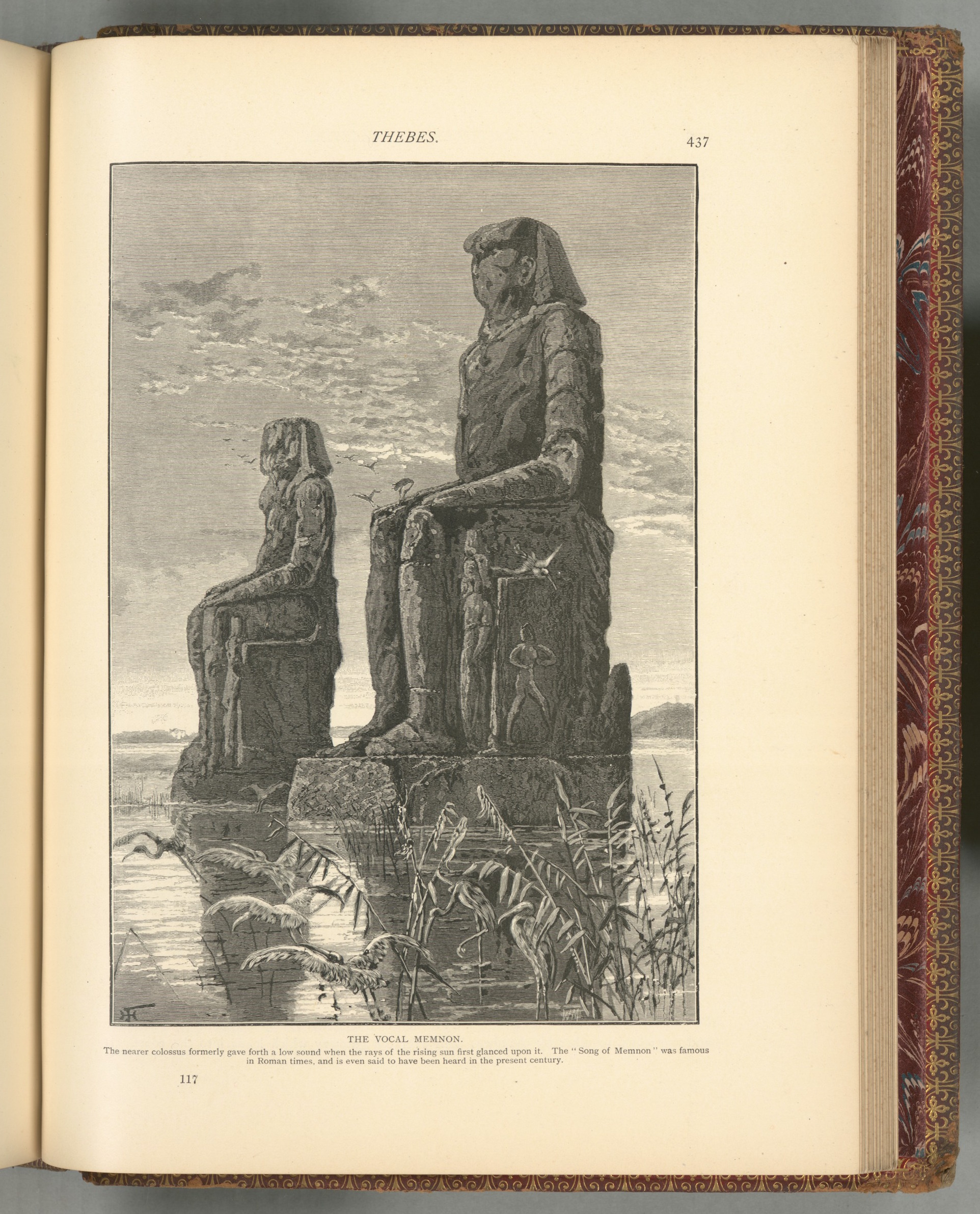 The Vocal Memnon  by Harry Fenn, 1881-1884