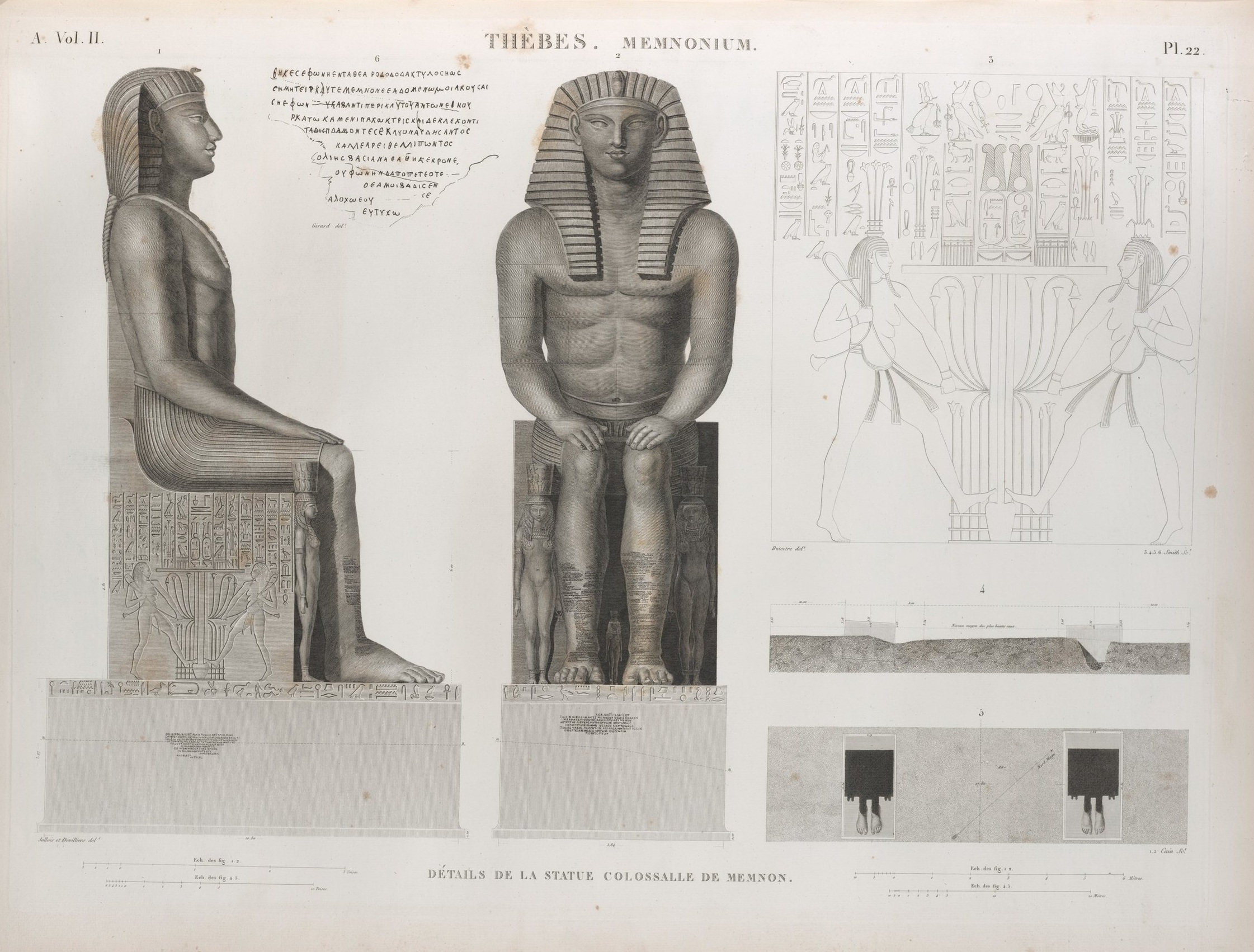 An illustration from  Description de l'Égypte , 1809-1828