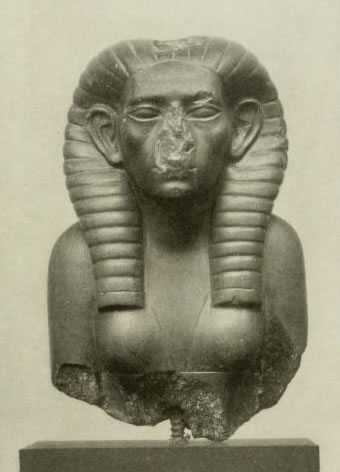 The loss of a nose makes this statue of Egypt's first female king, Sobeknefru, a bit too creepy