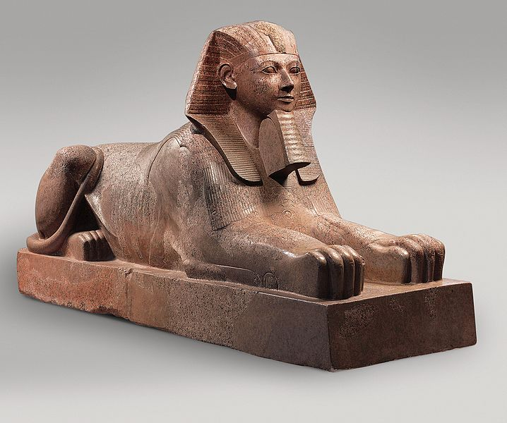 Like mother, like daughter: Evidence reveals that Pharaoh Hatshepsut, depicted here as a sphinx, attempted to pave the way for her daughter to ascend the throne