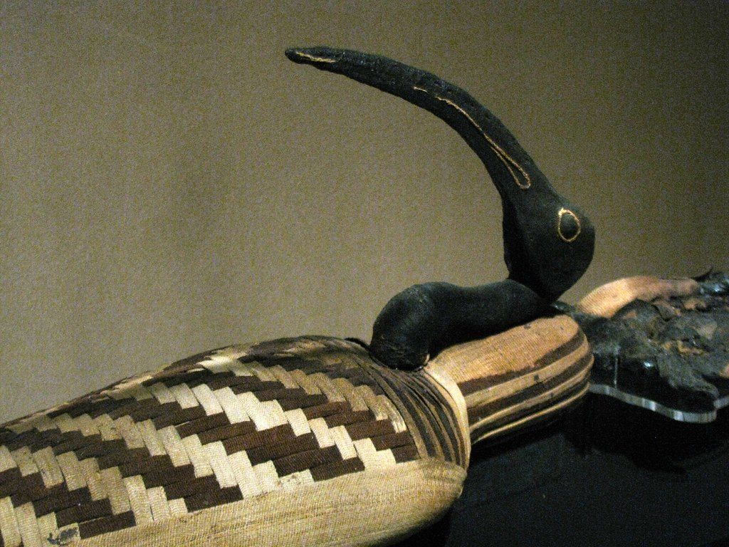 The ibis is now extinct, but the long-billed bird was associated with Thoth, the god of wisdom