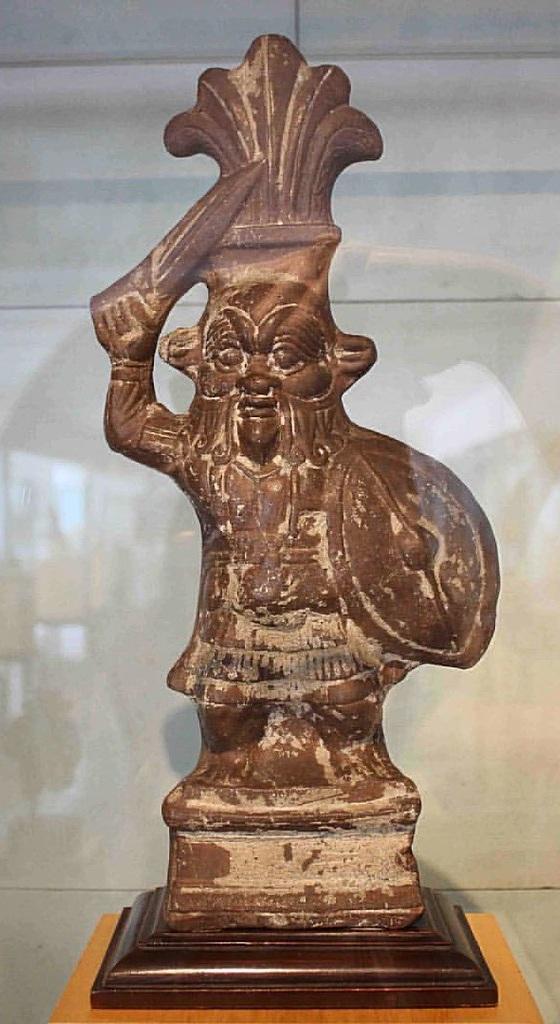 True to his origins as a war god, Bes became a mascot of Roman legionnaires