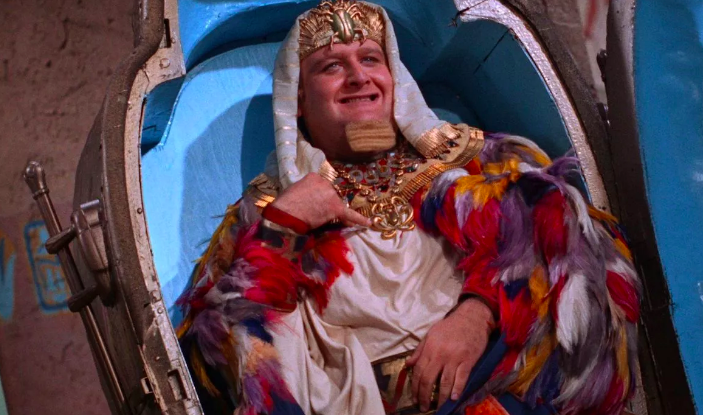 The tubby  Batman  villain King Tut was obviously delusional