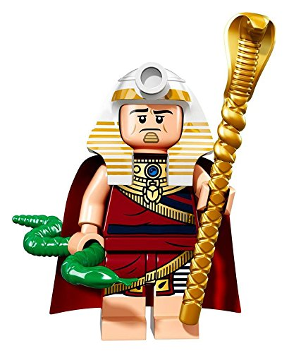 A King Tut  Batman  Lego figurine