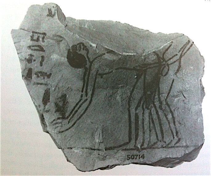 Buggering goes way back, as this drawing from Ancient Egypt shows