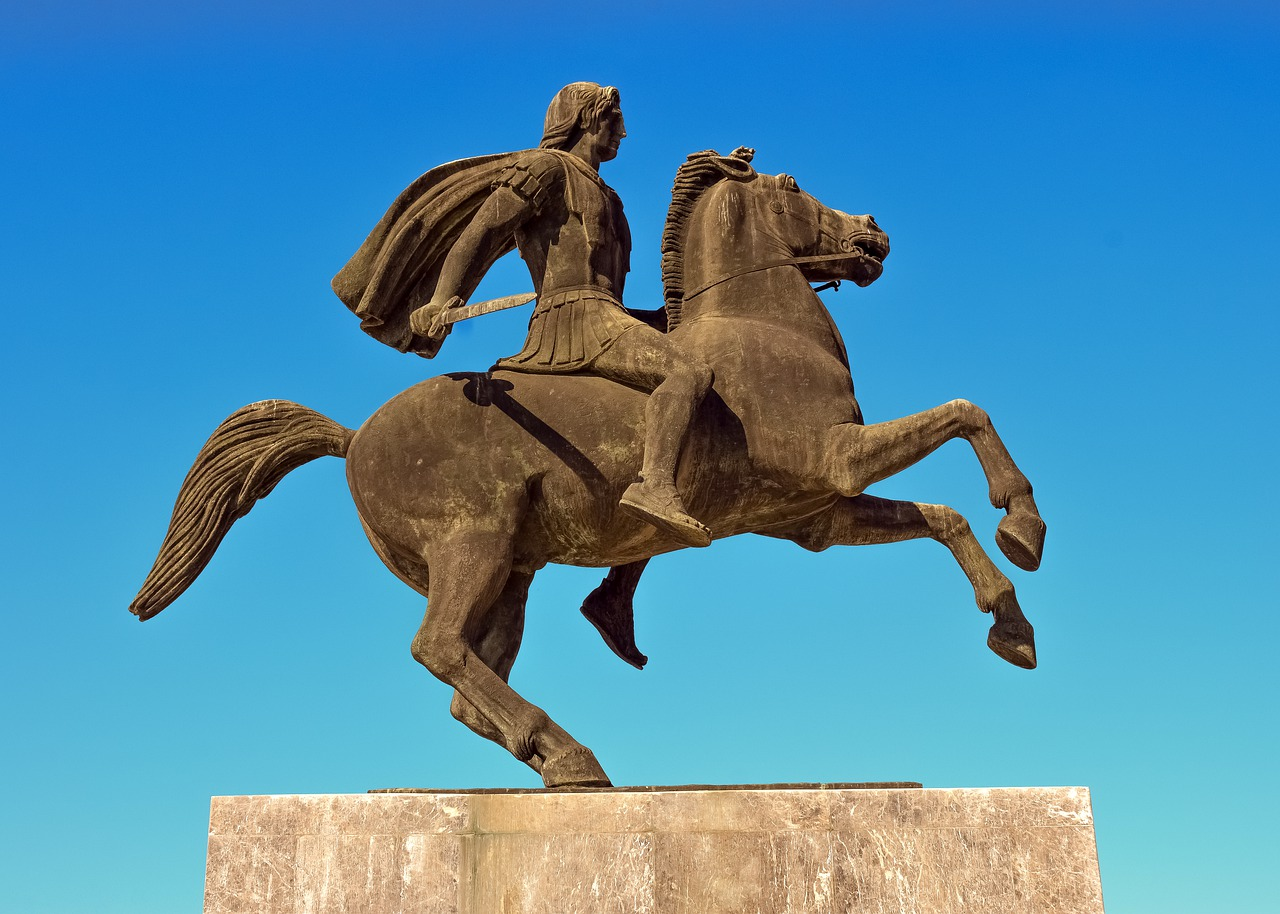 Alexander the Great much preferred battles to the bedroom
