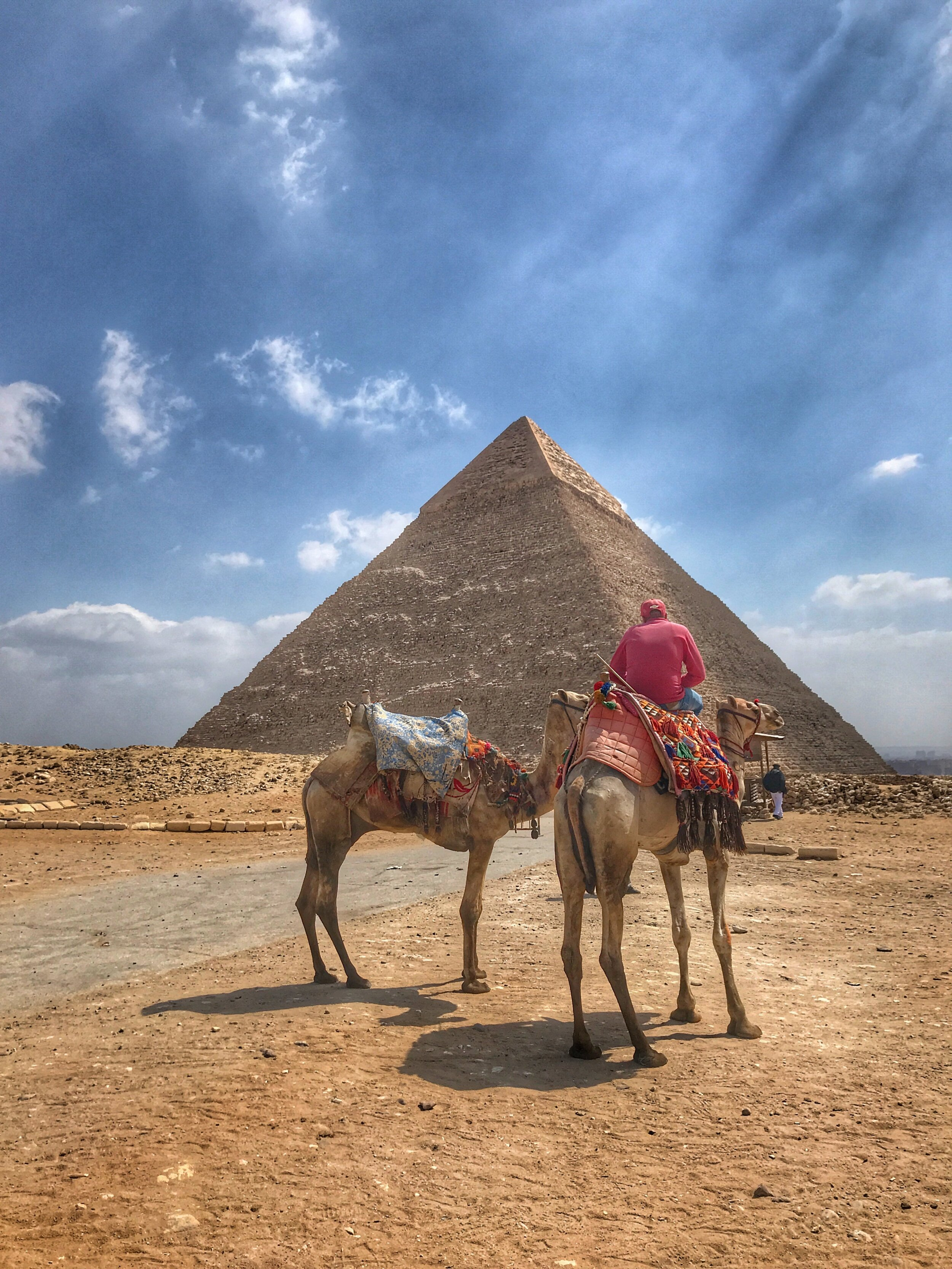 We opted not to take a camel ride, but it's a good way to see more of the Giza area