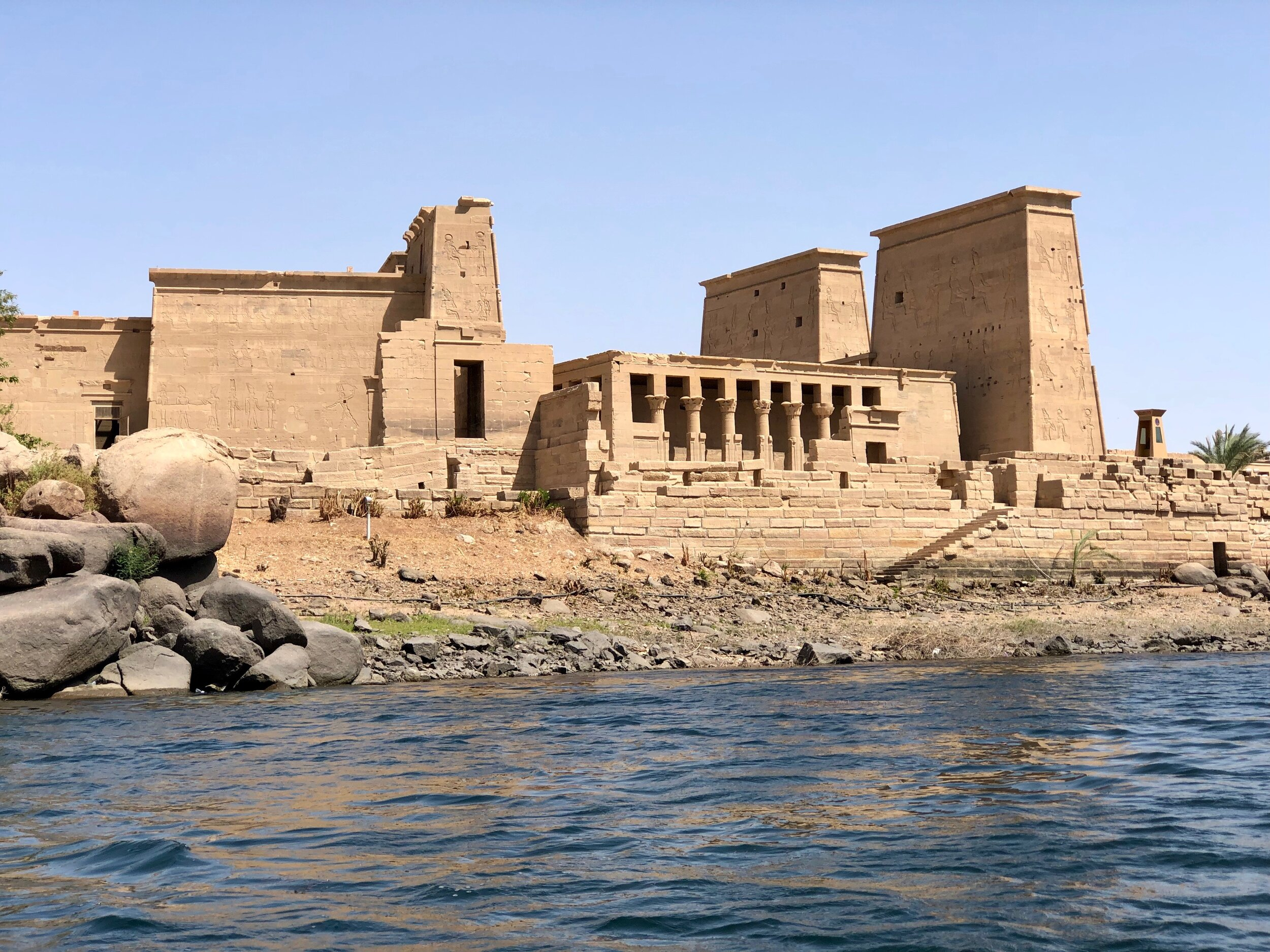 When you visit Aswan, be sure to explore this island temple, one of the latest and best preserved in Egypt