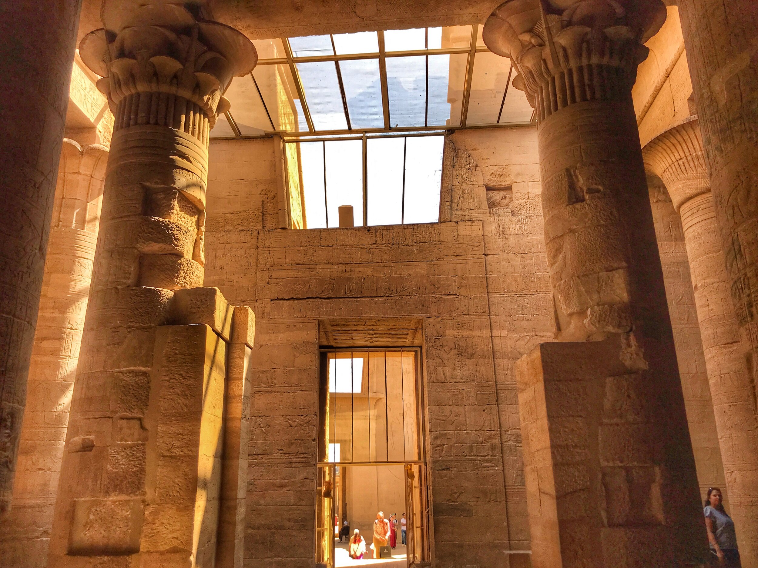 The interior of Philae