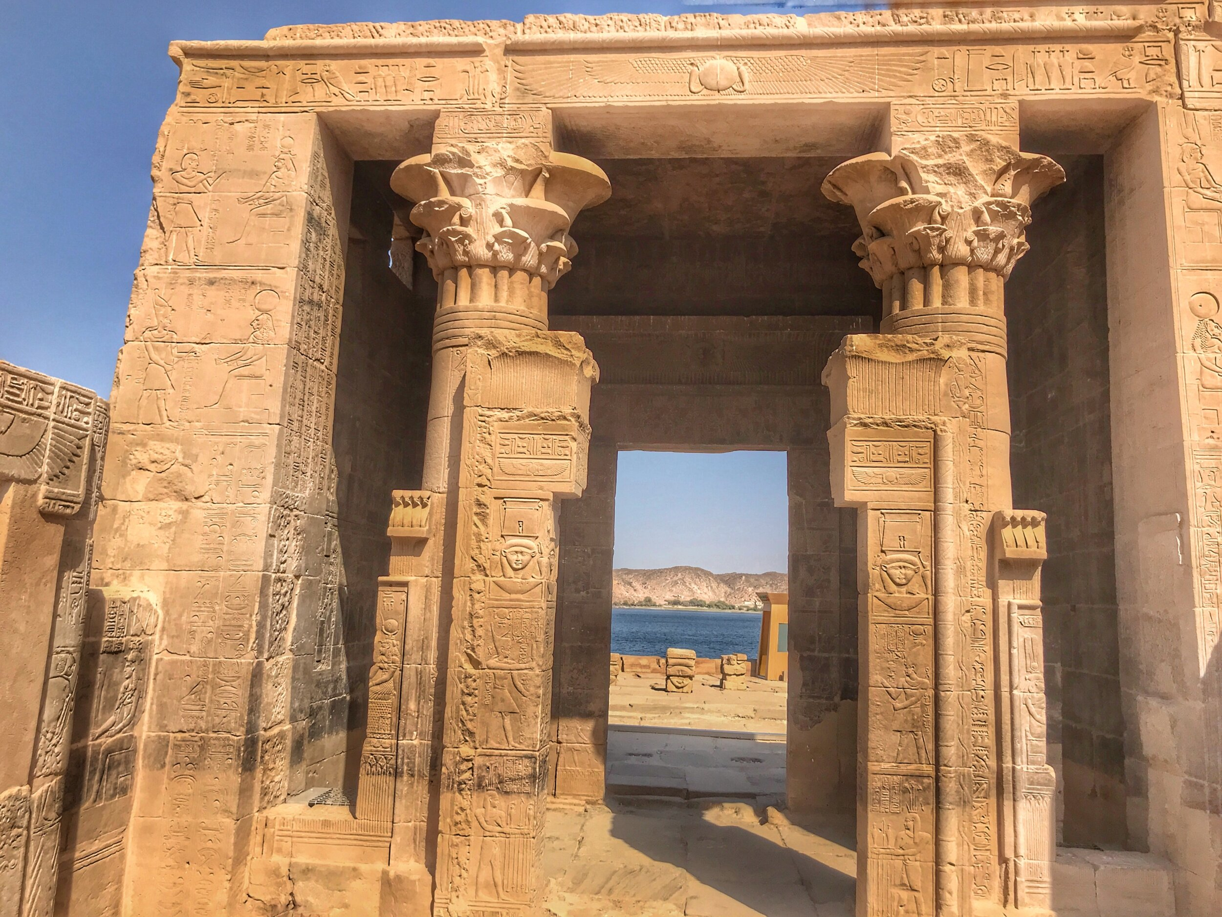 The Tempe of Hathor at Philae