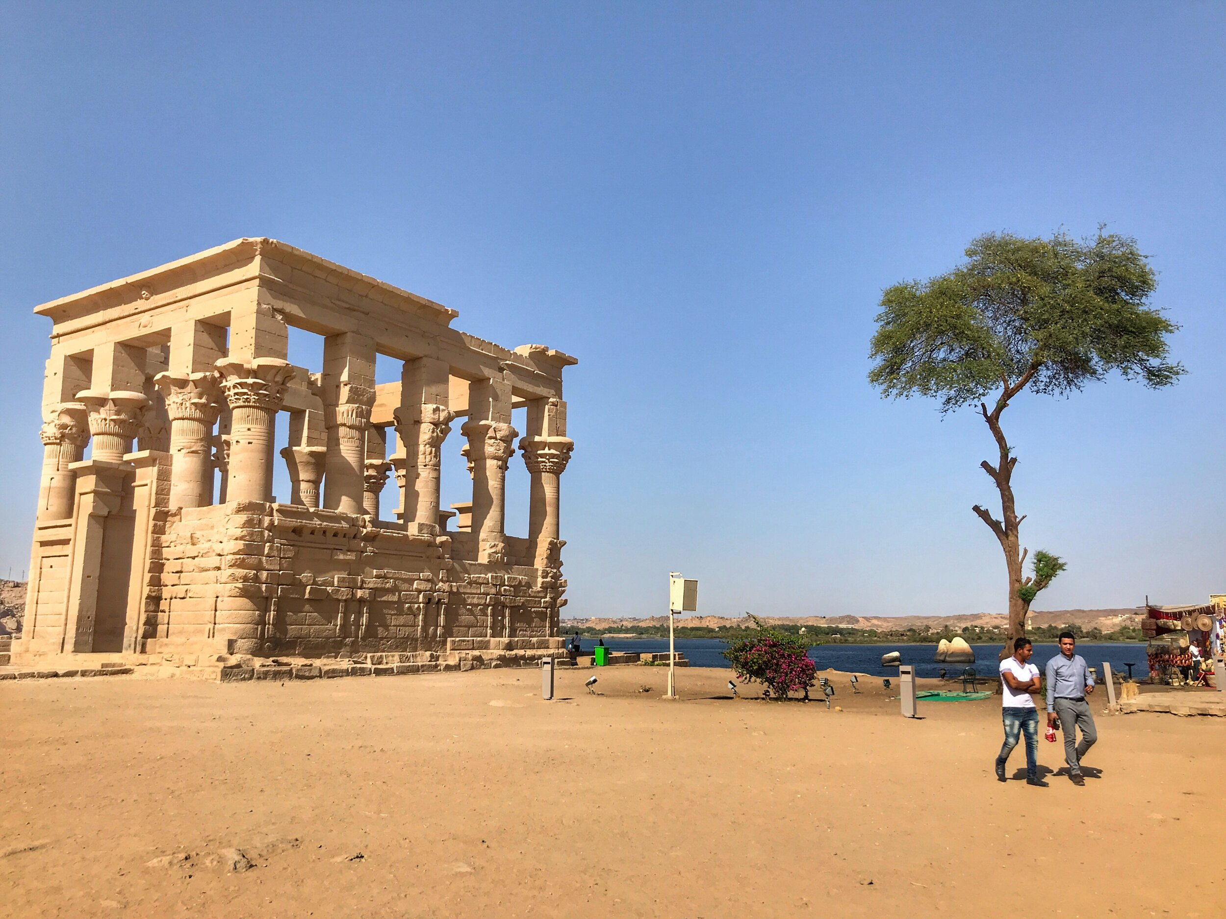 The Kiosk of Trajan is an iconic structure at Philae