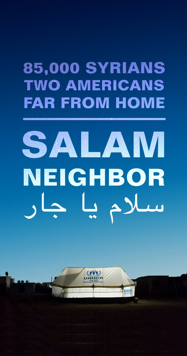 SALAM NEIGHBOR Documentary Poster