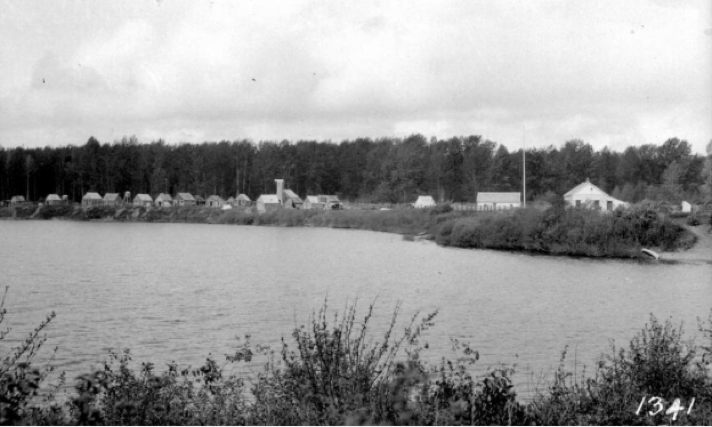 McLeod Lake in 1914 (image courtesy of BC Archives)