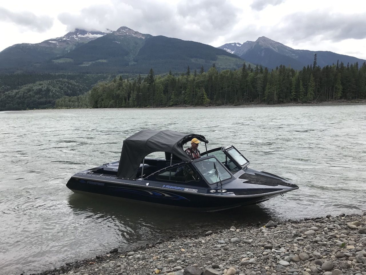 Matador Network - August 26, 2019For real adventure in British Columbia, head to The North READ ARTICLE >>THE SKEENA RIVER slices through northern British Columbia, serving as an important lifeline for the communities along its banks from the headwaters in the Spatsizi Plateau until it spills into the Pacific Ocean 350 miles downstream. The Skeena's deep turquoise water contrasts with the bright riverside flora and the dark, earthy hues of the Babine Range peaks beyond.