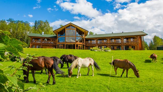 Travel Pulse - August 23, 2019Inside Look: Bear Claw Lodge in Northern British Columbia READ ARTICLE >>You could get pretty lost in Northern British Columbia, which is probably why the Allen family offers to pick up their guests from the airport, about 2.5 hours away. The distance between is full of tall peaks, flowing rivers and many gravel roads. Indeed, the journey to the eight-room Bear Claw Lodge is the perfect introduction to what one can expect to experience on a stay.