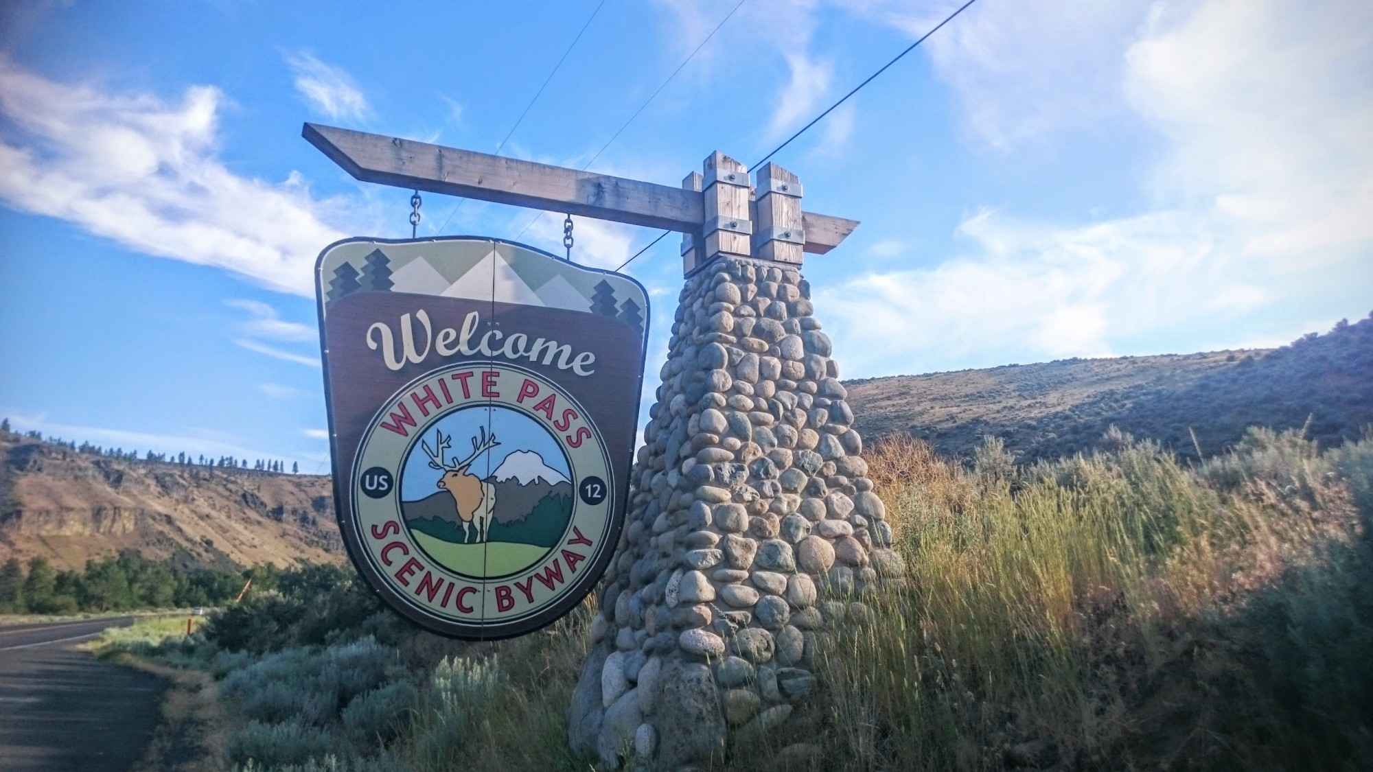 Entering the White Pass Scenic Byway