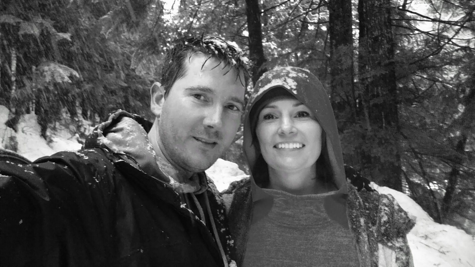 Hike finished! Good times in the snow :-)