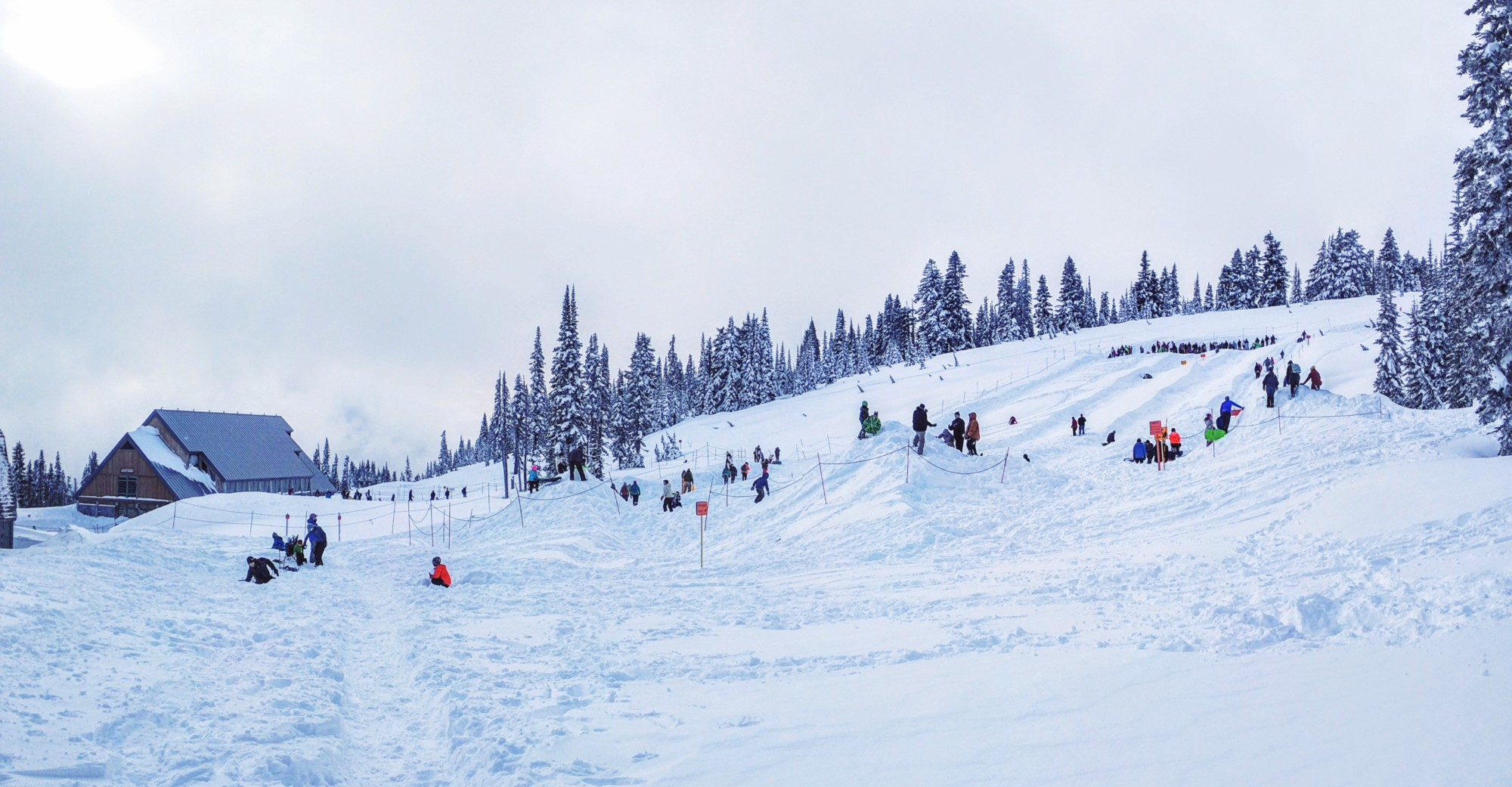 Sledding/Snowplay area